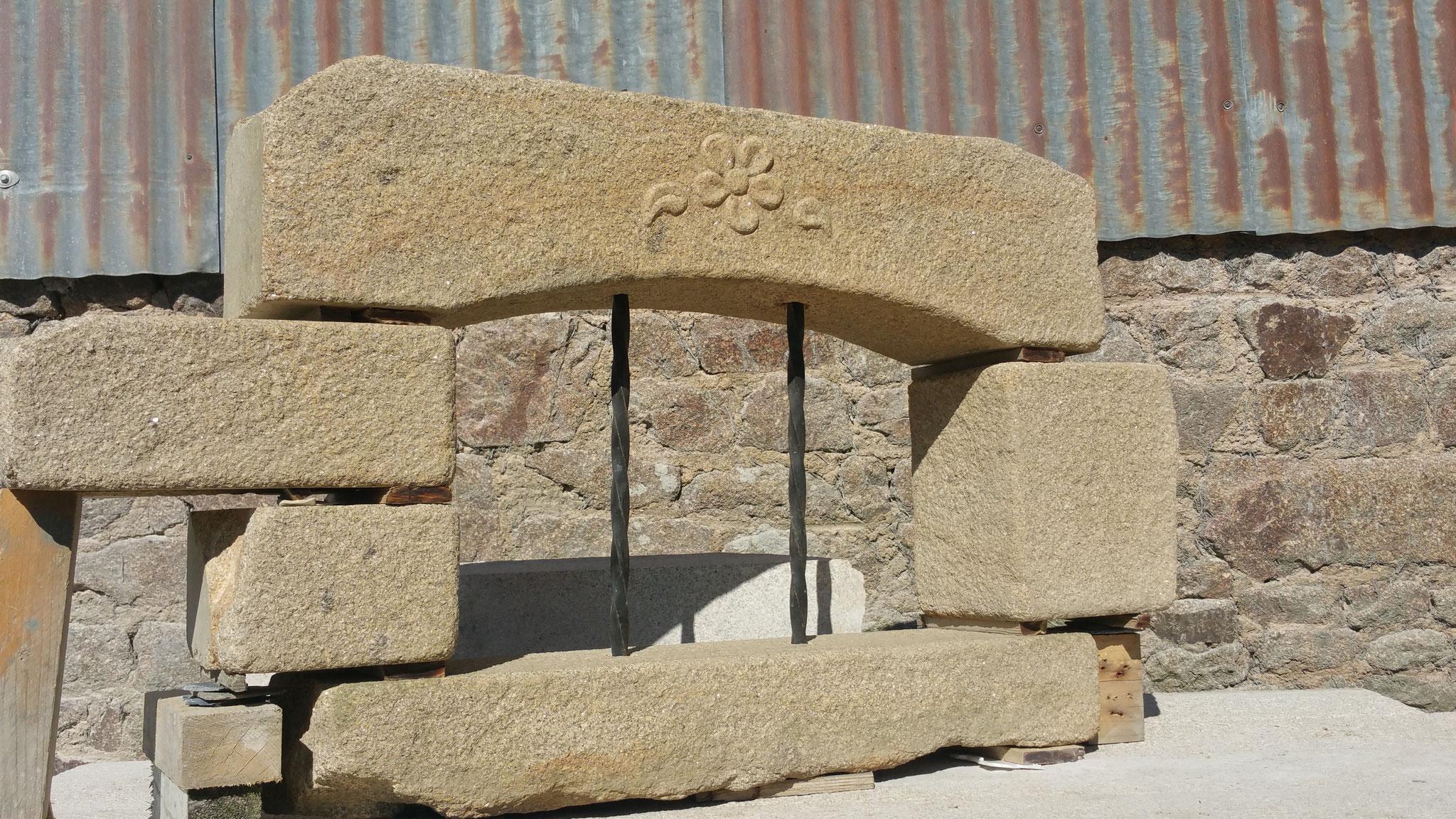 soupirail pierre granit