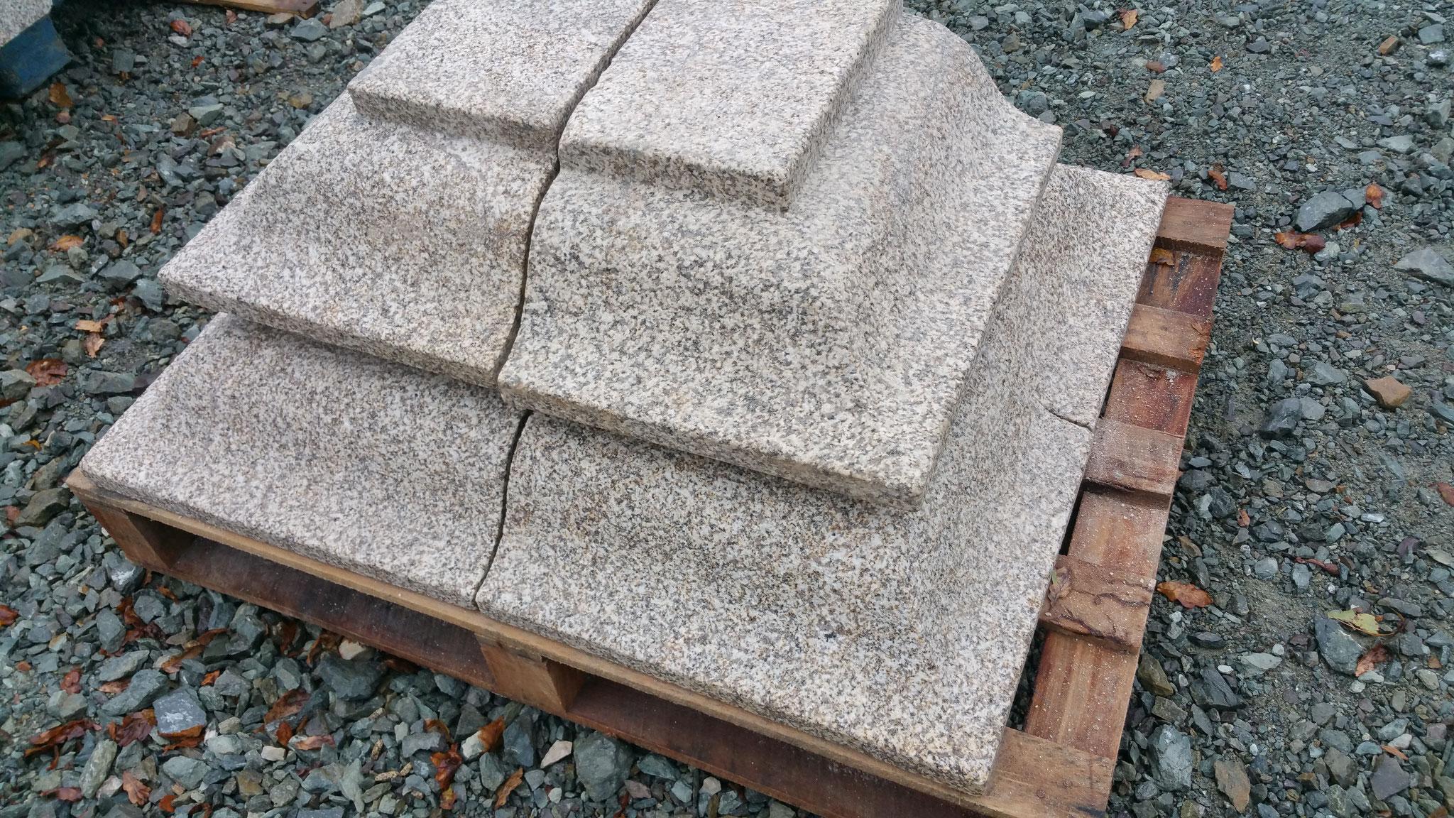 corniche granit