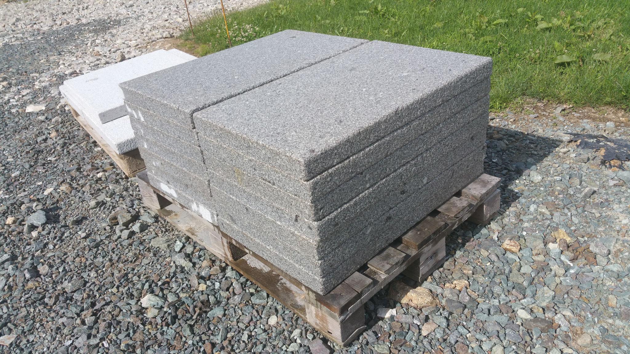 dallage granit gris