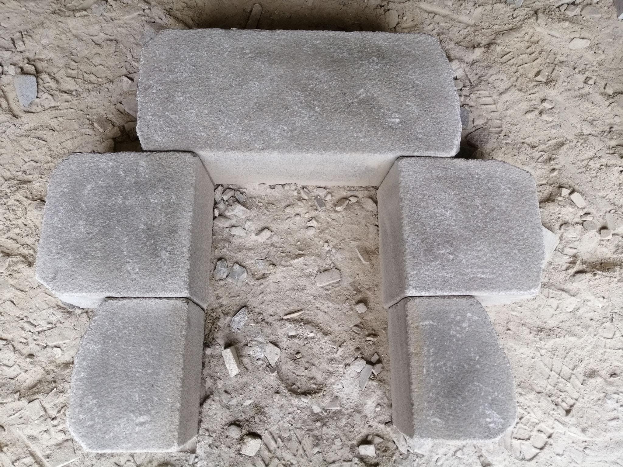 linteau jambage granit gris