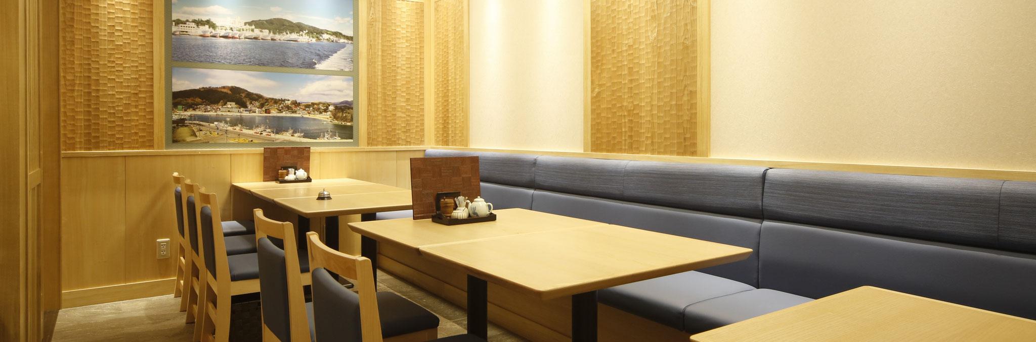 仙台駅店のテーブル席は最大12名様
