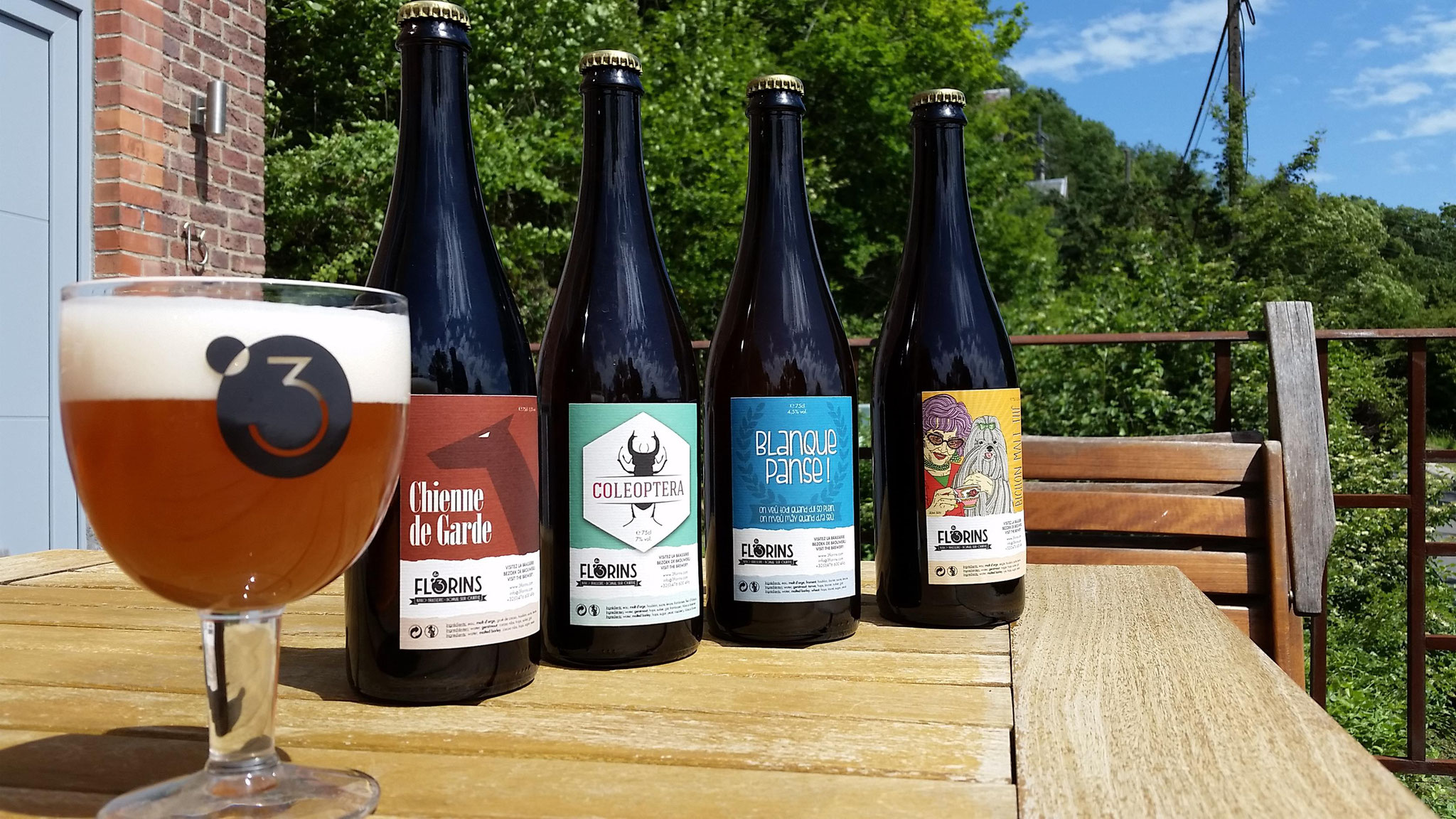 Les 3 Florins - Bières artisanales à Bomal