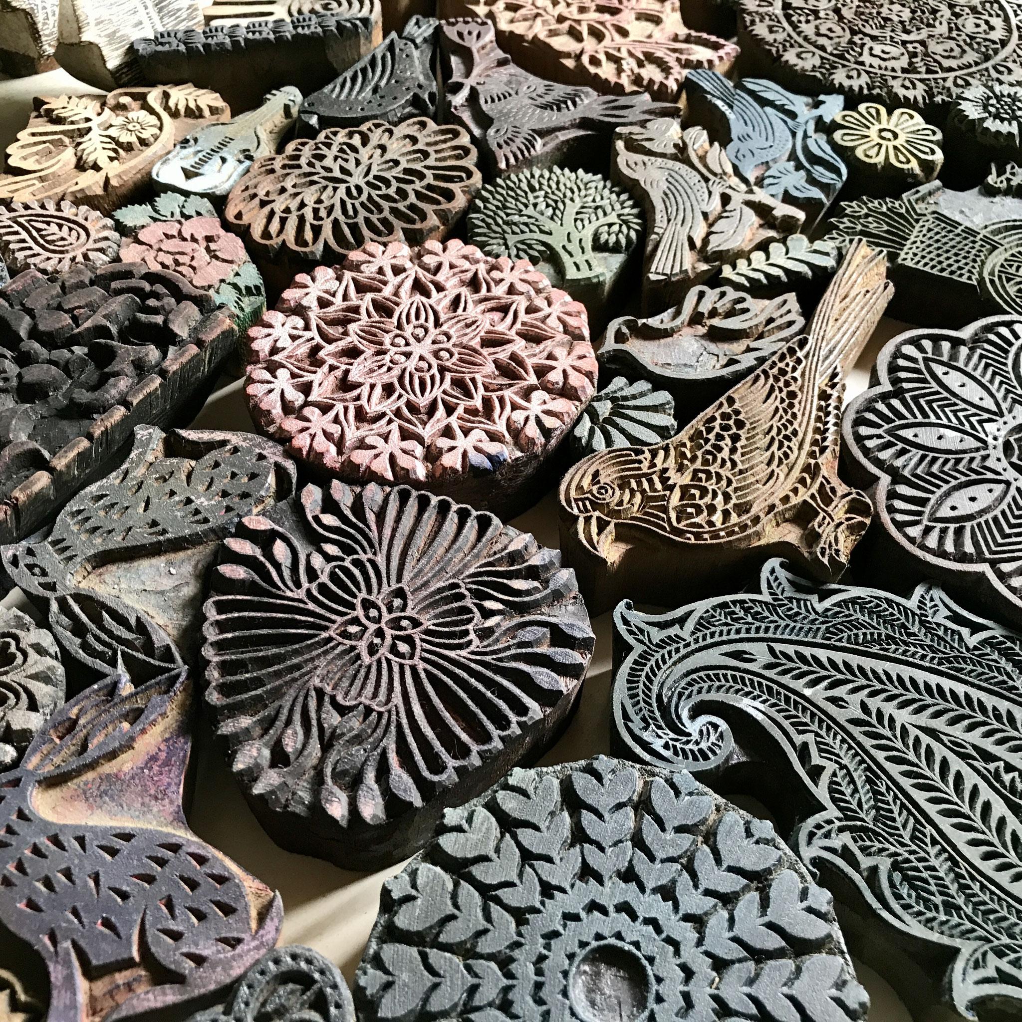 Stempel für Textildruck Kurse in Wädenswil