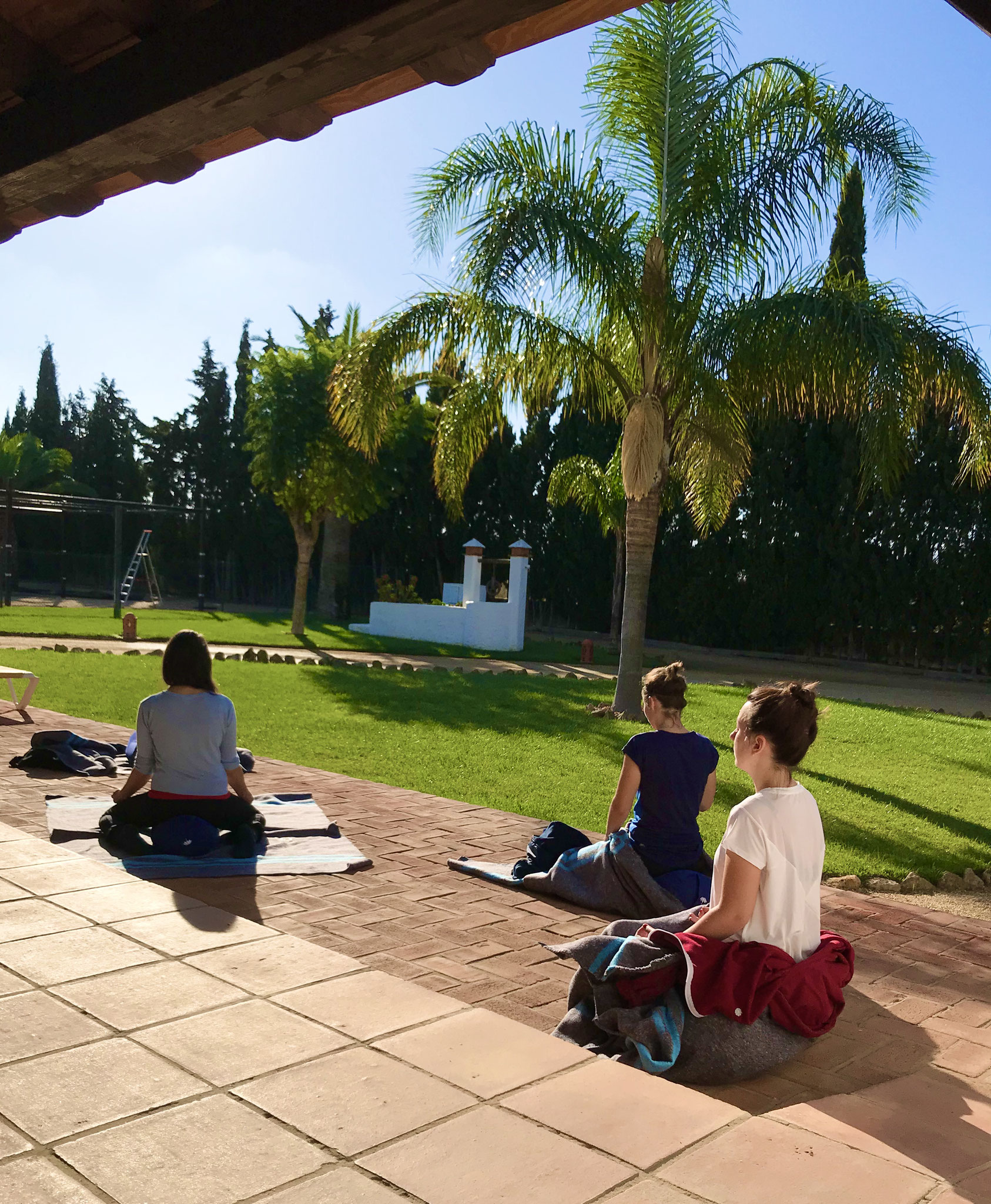 Meditation und Yoga Andalusien
