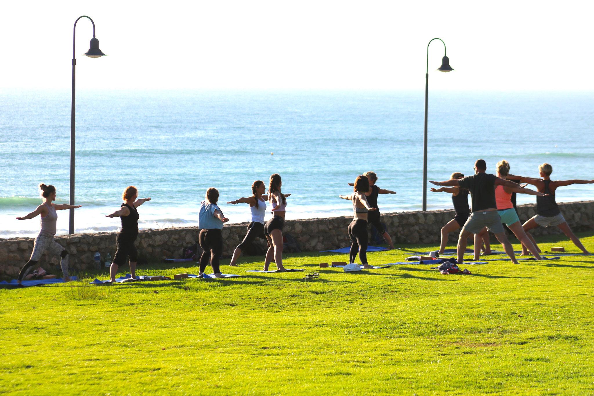 Yoga und Surf Urlaub Spanien