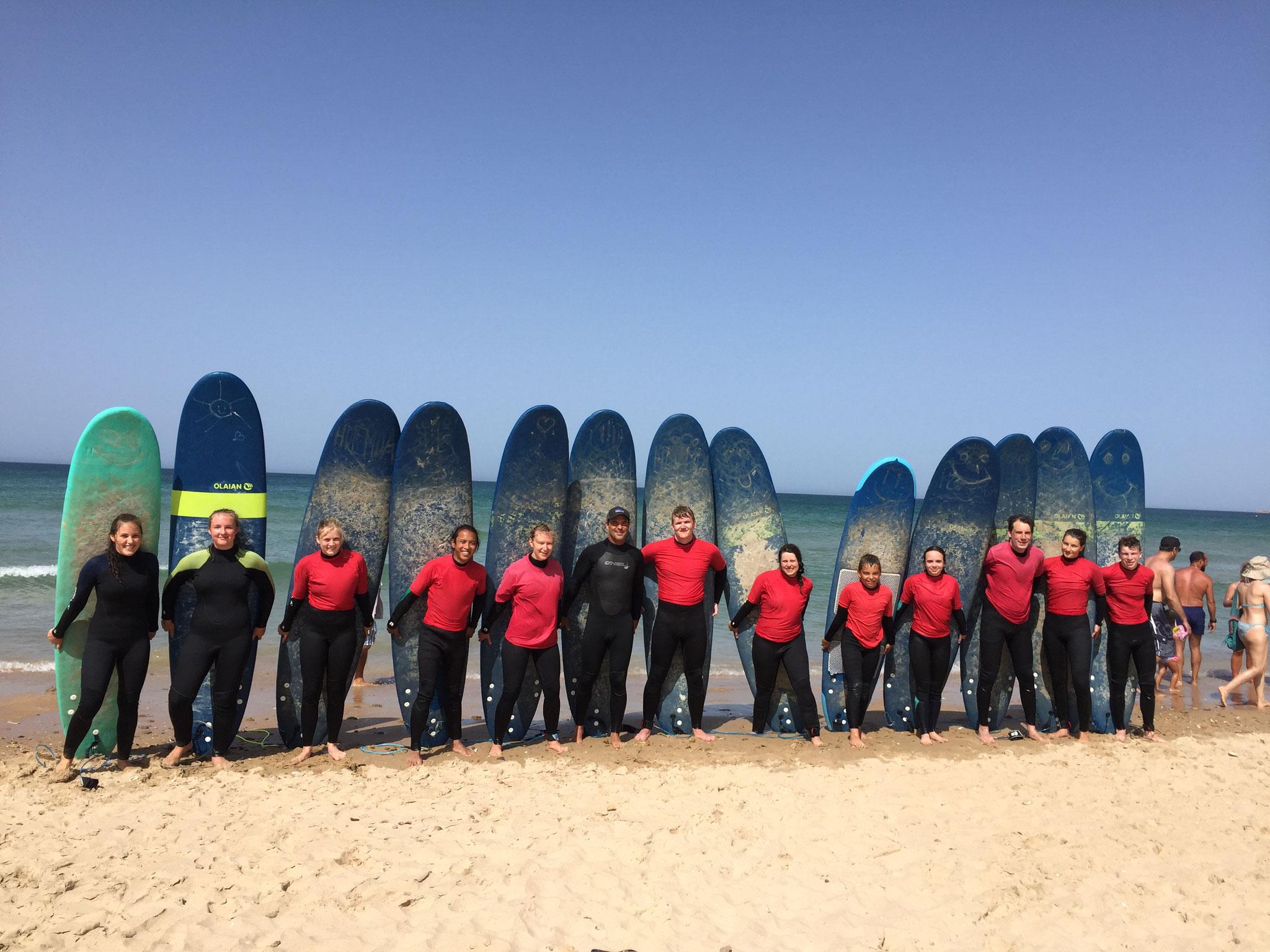 Winter Surfcamp
