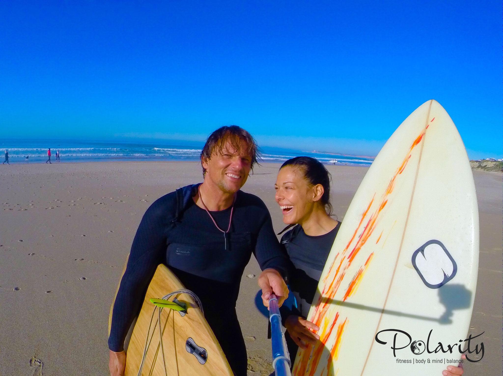Surfen Conil, Andalusien