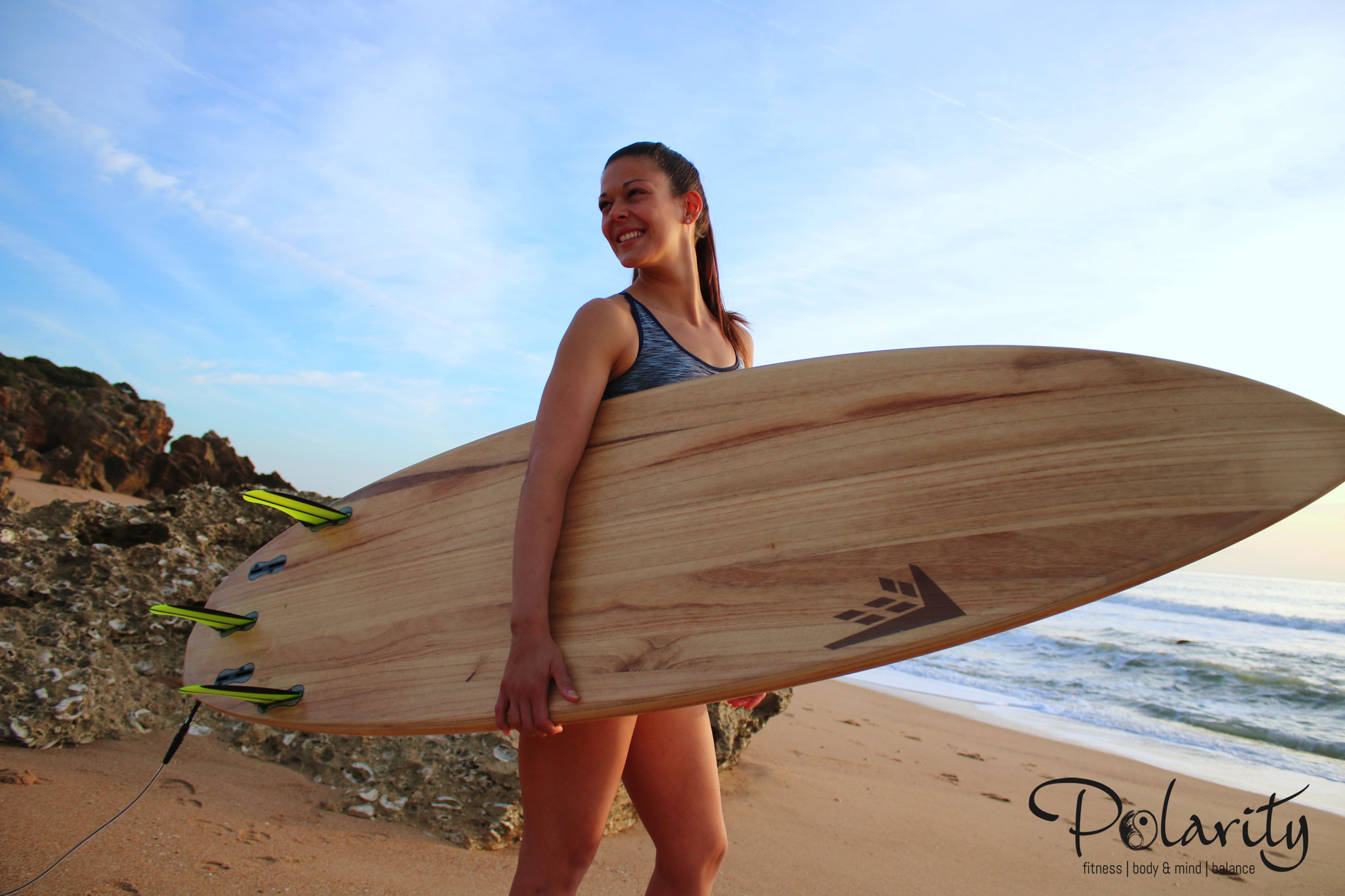Surfen im Yogacamp Andalusien