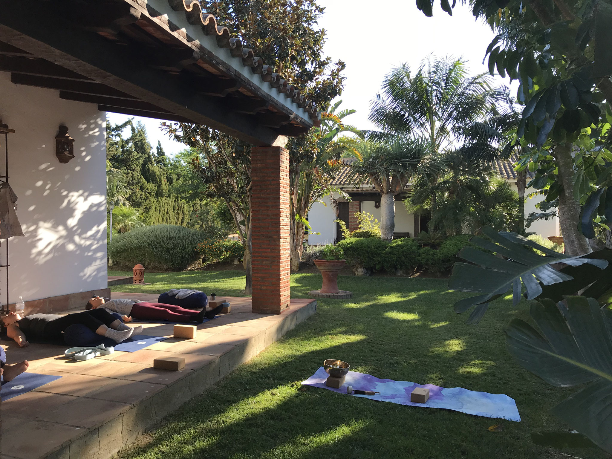 Yoga Retreat Spanien