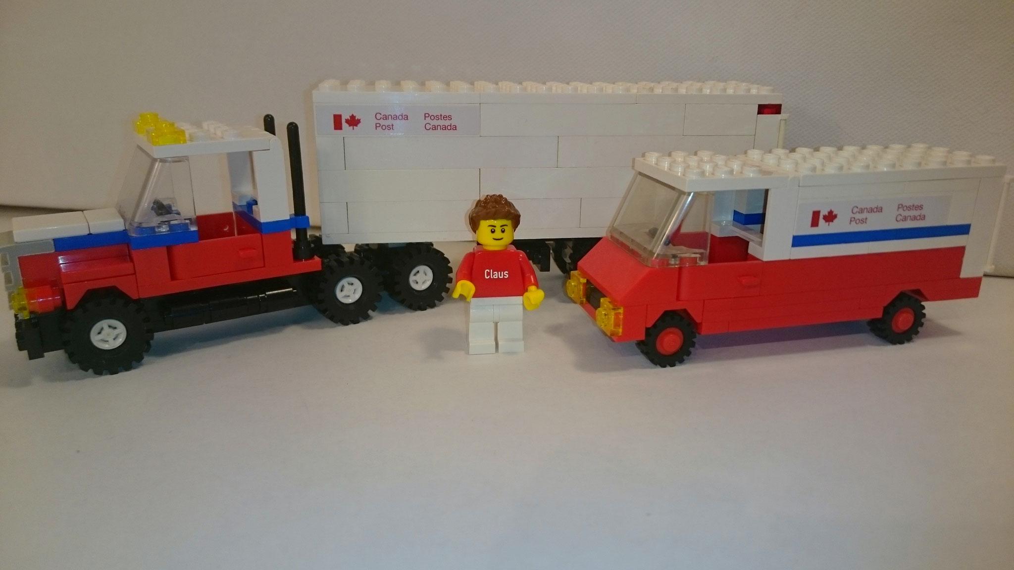 107 - Mail Truck & 105 - Mail Van