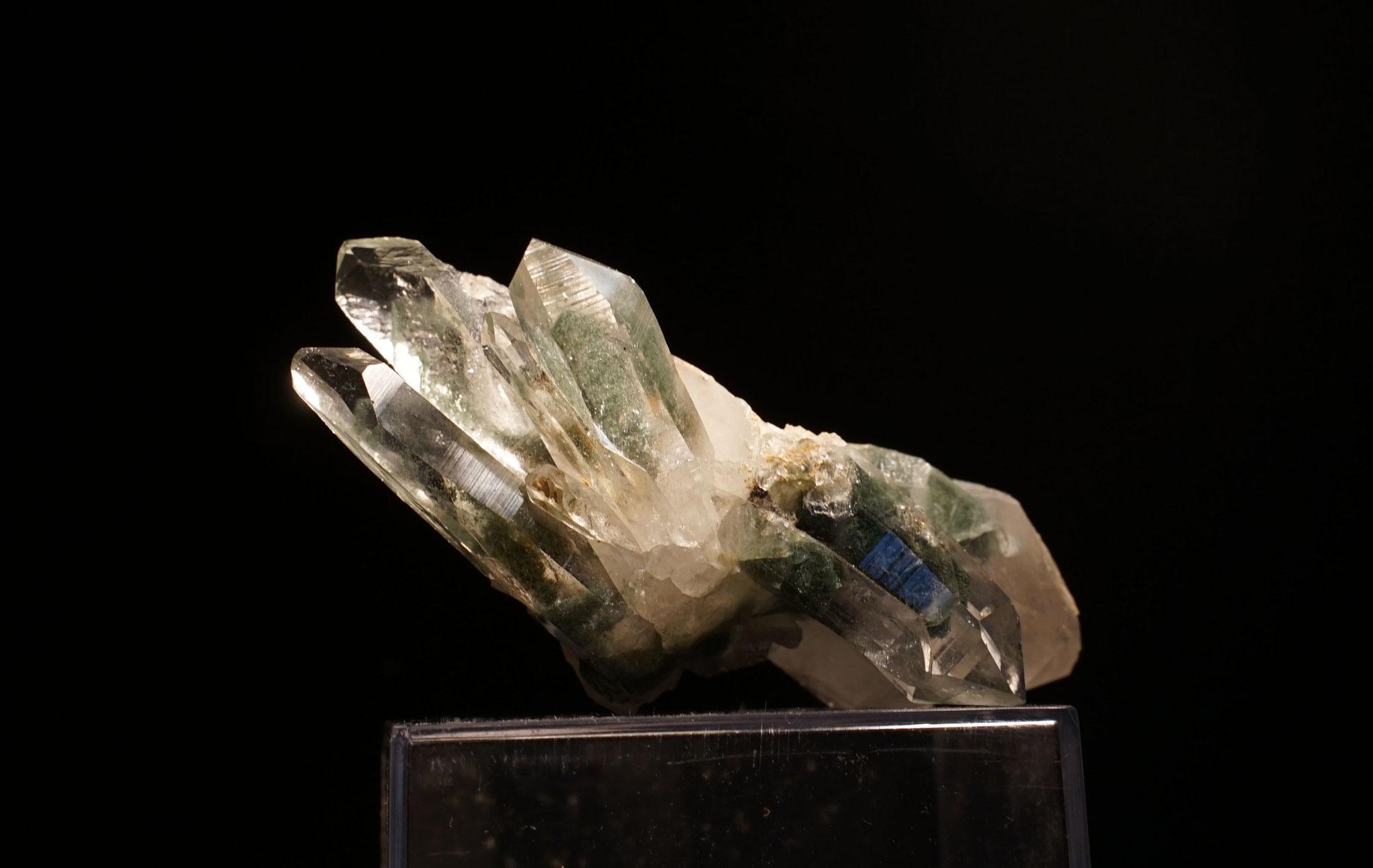 Quartz chloriteux Les Deux Alpes 8 cm