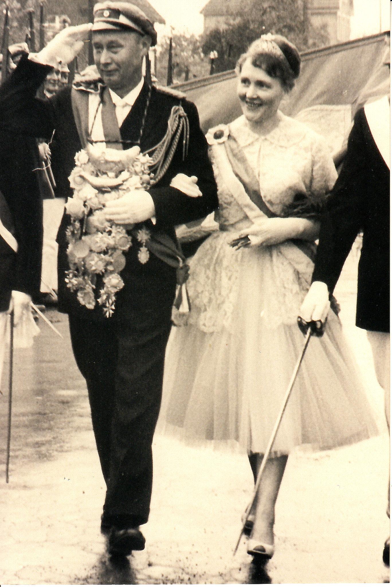 1961 Franz Schulte+ & Anni Korff+