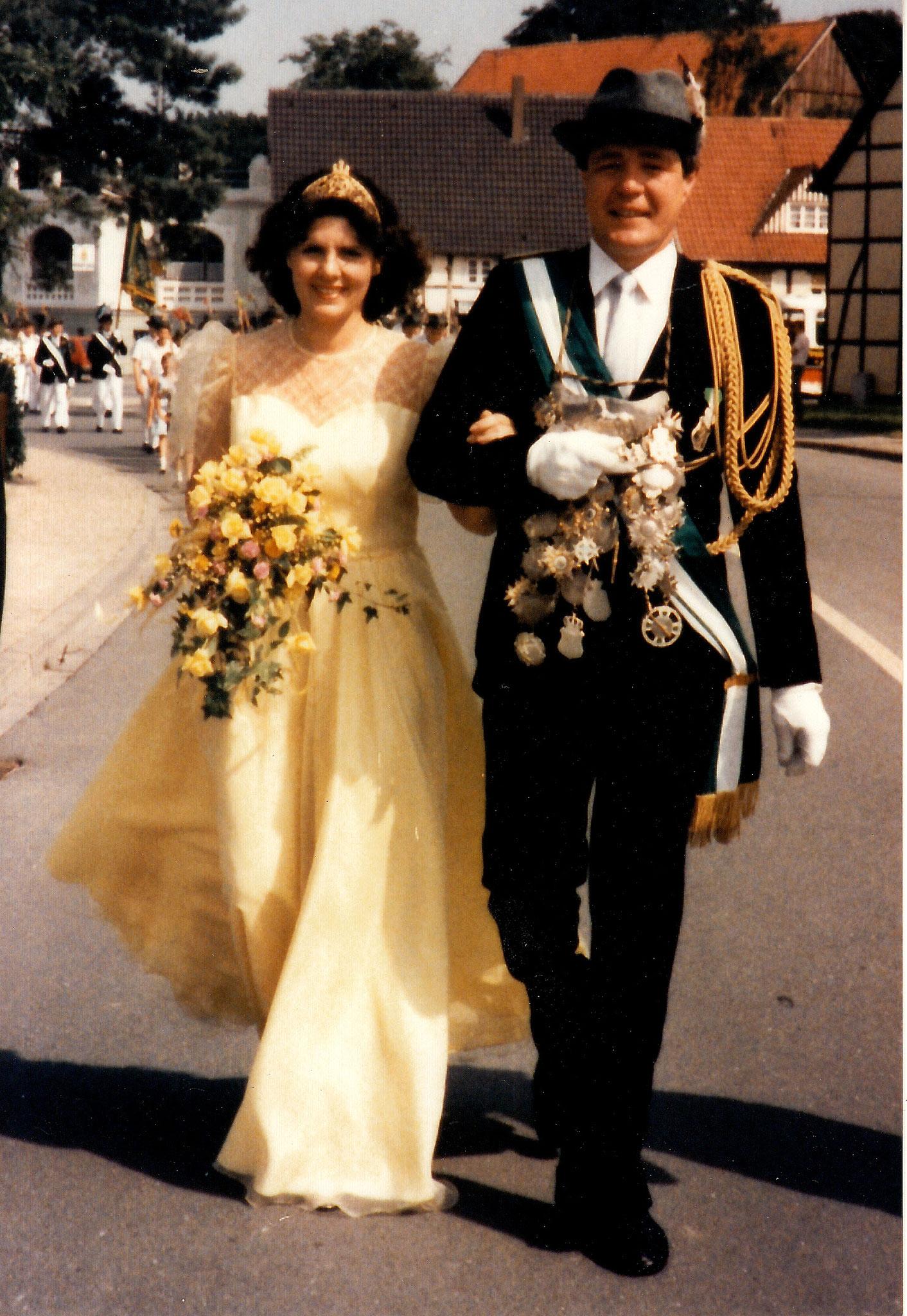 1984 Hubert Arens & Ingrid Mertens