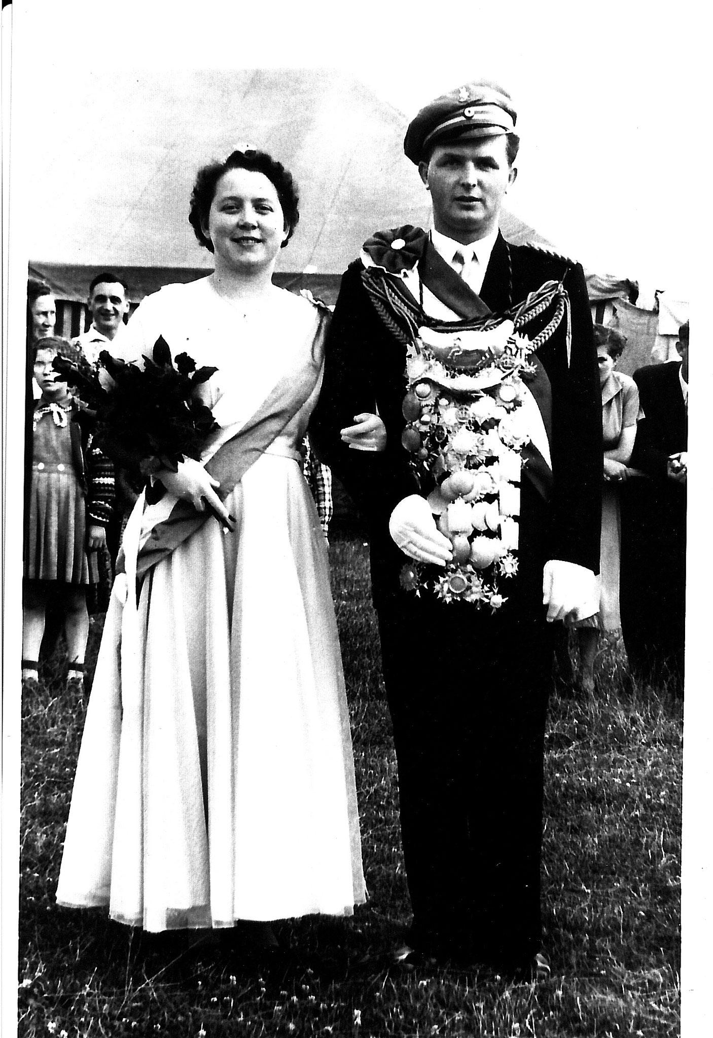 1955 Franz Schulz+ & Mathilde Stratmann+