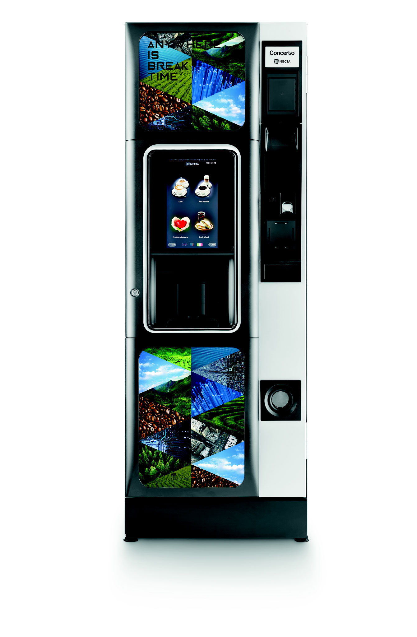 Concerto Touch Heißgetränkeautomat ab 2019