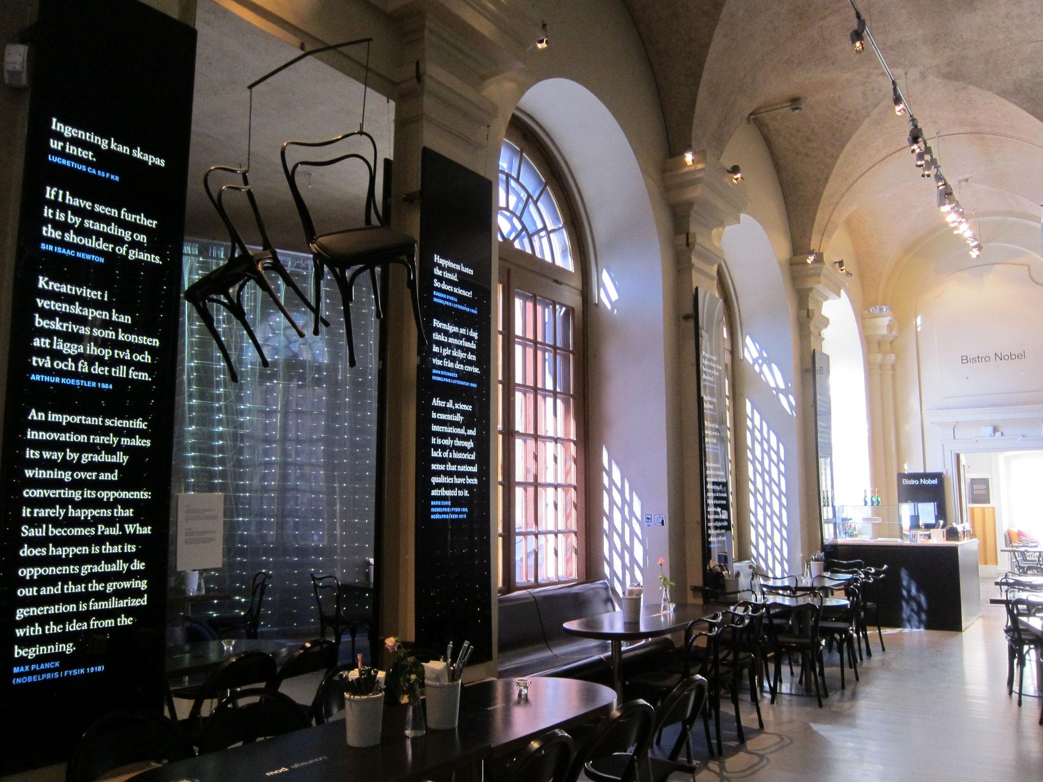 スウェーデンにあるノーベル博物館(記念館)です