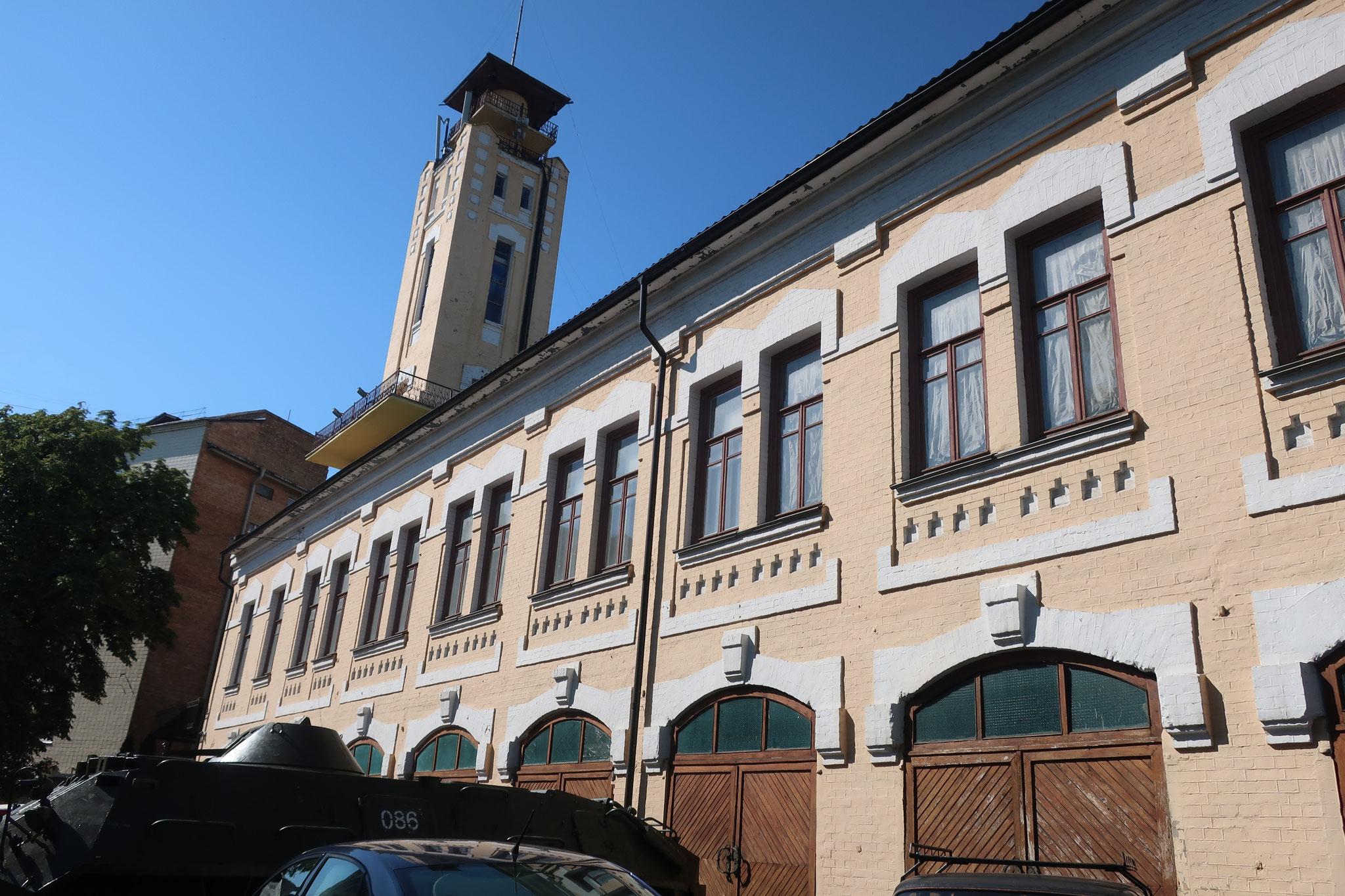 チェルノブイリ博物館はキエフ市内にあります