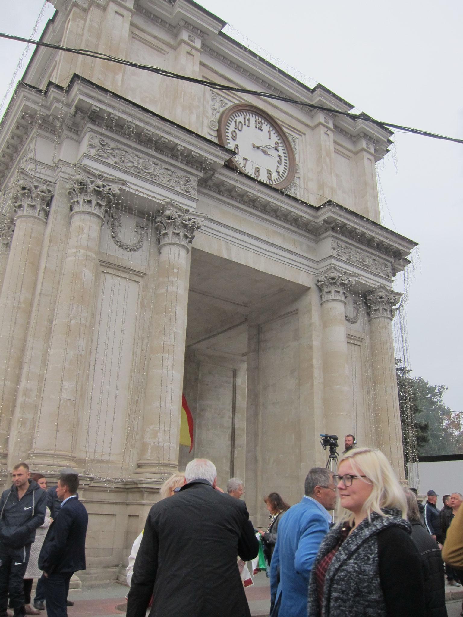 モルドバ凱旋門