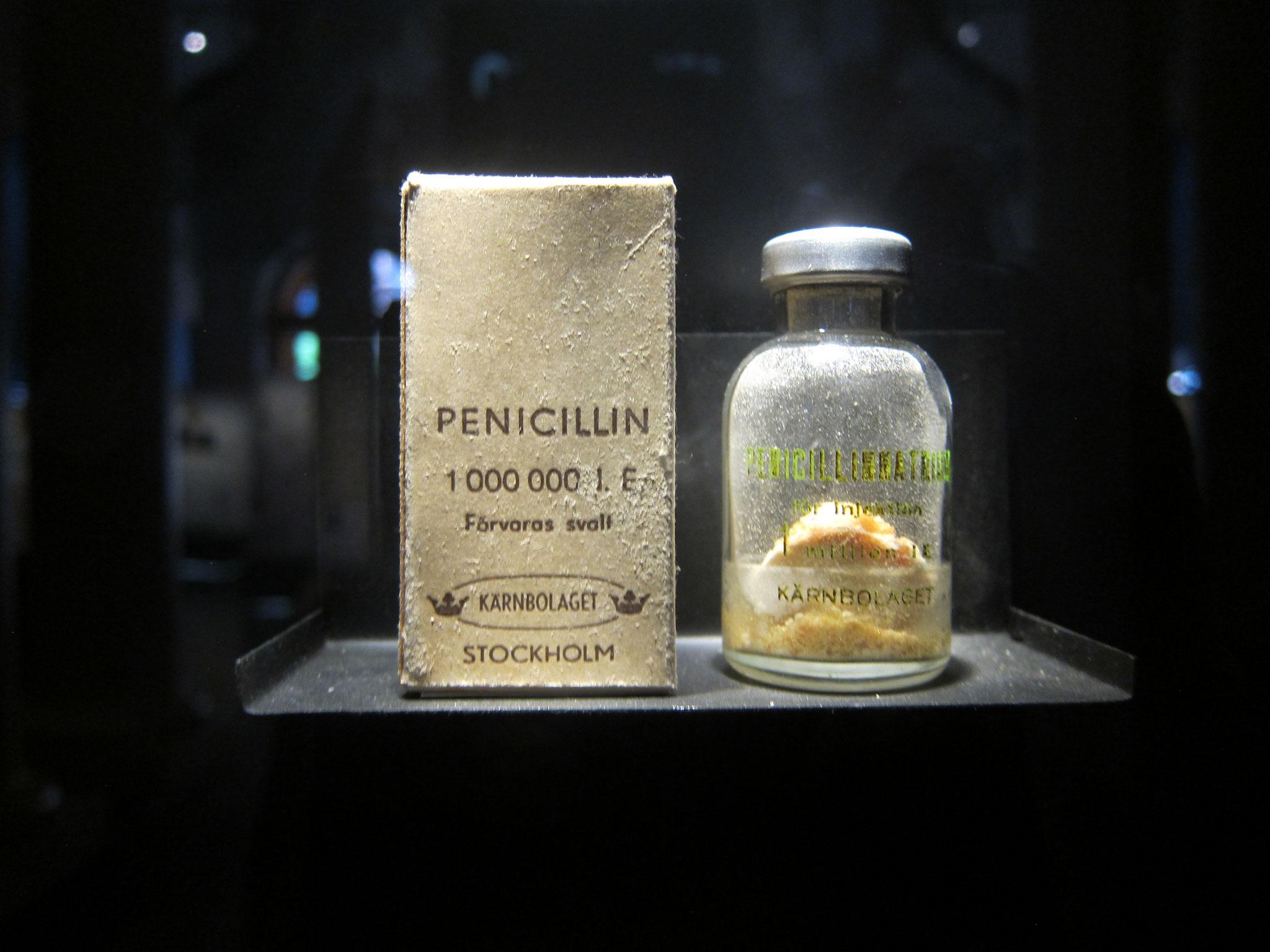有名なペニシリン