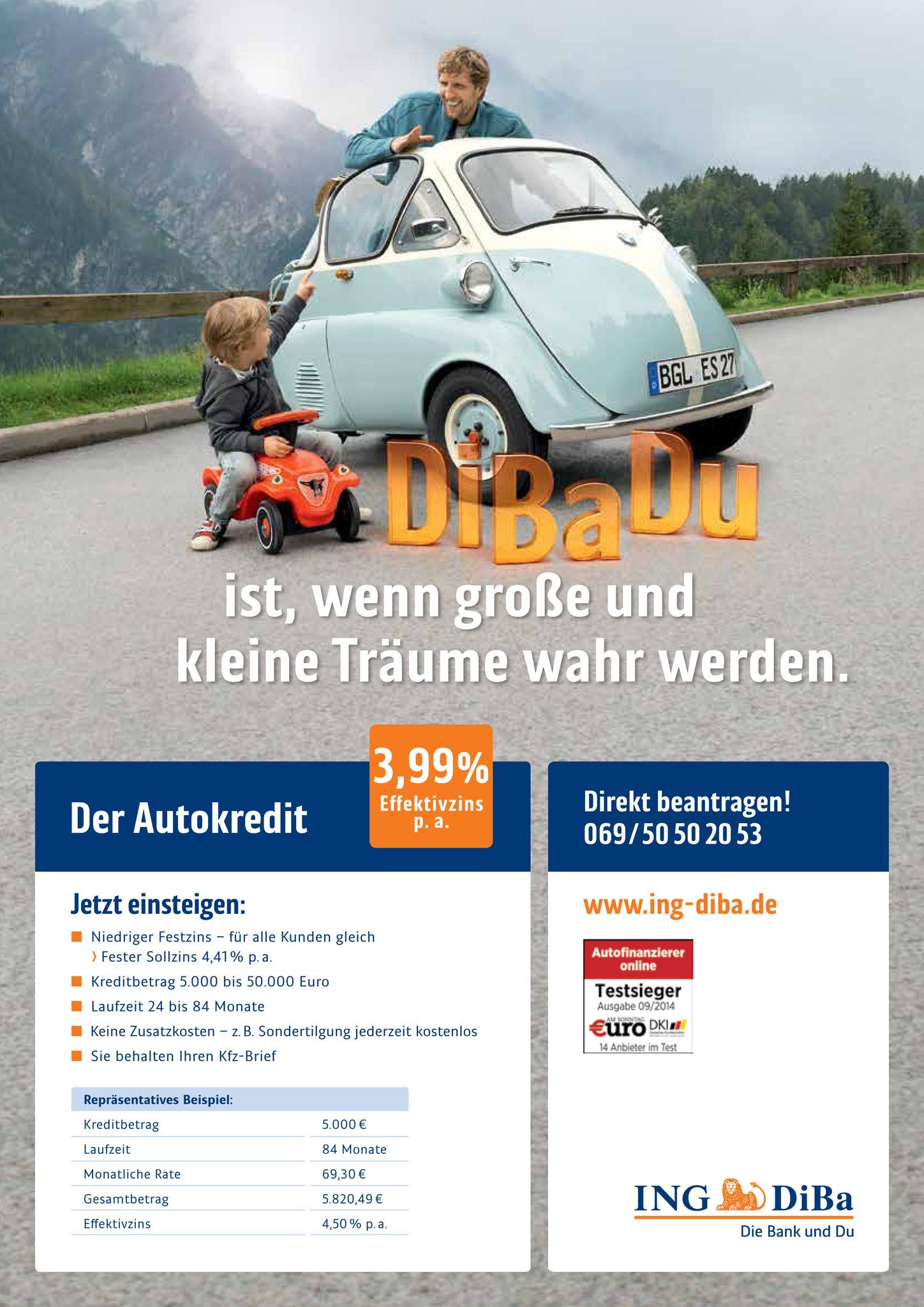 Printmotiv Autokredit