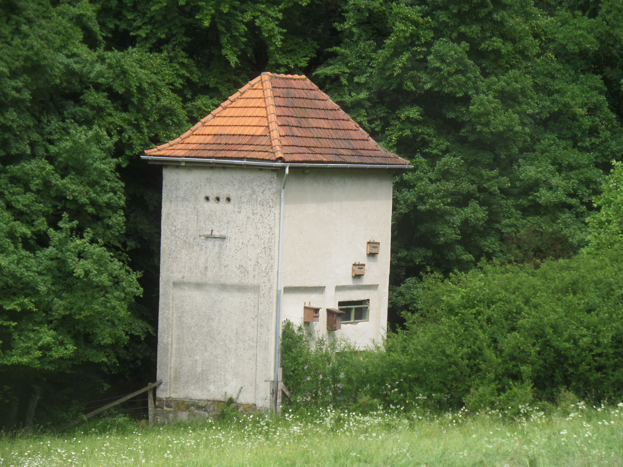Das Trafo-Haus nach Fertigstellung