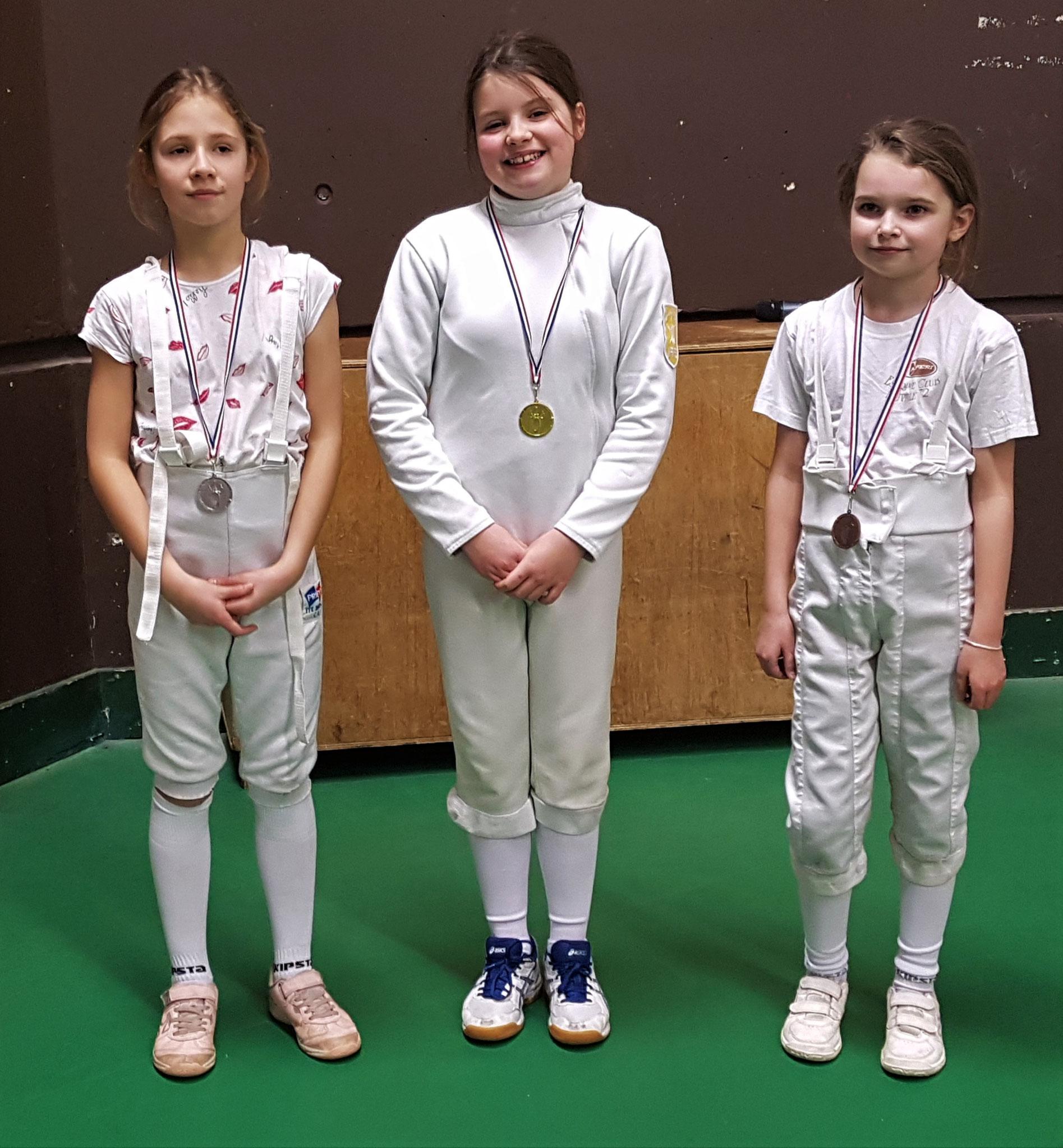 podium M11 Katell 1ère