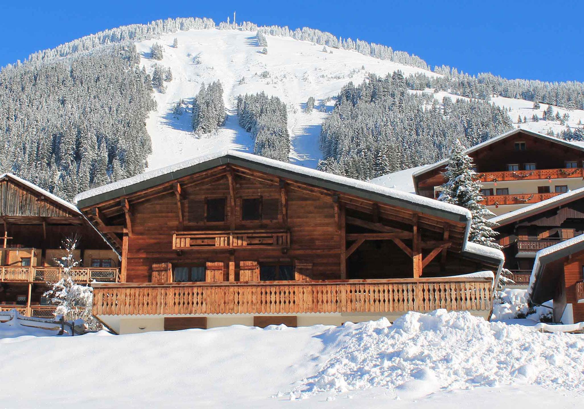 Wintersport chalets met alles inclusief service