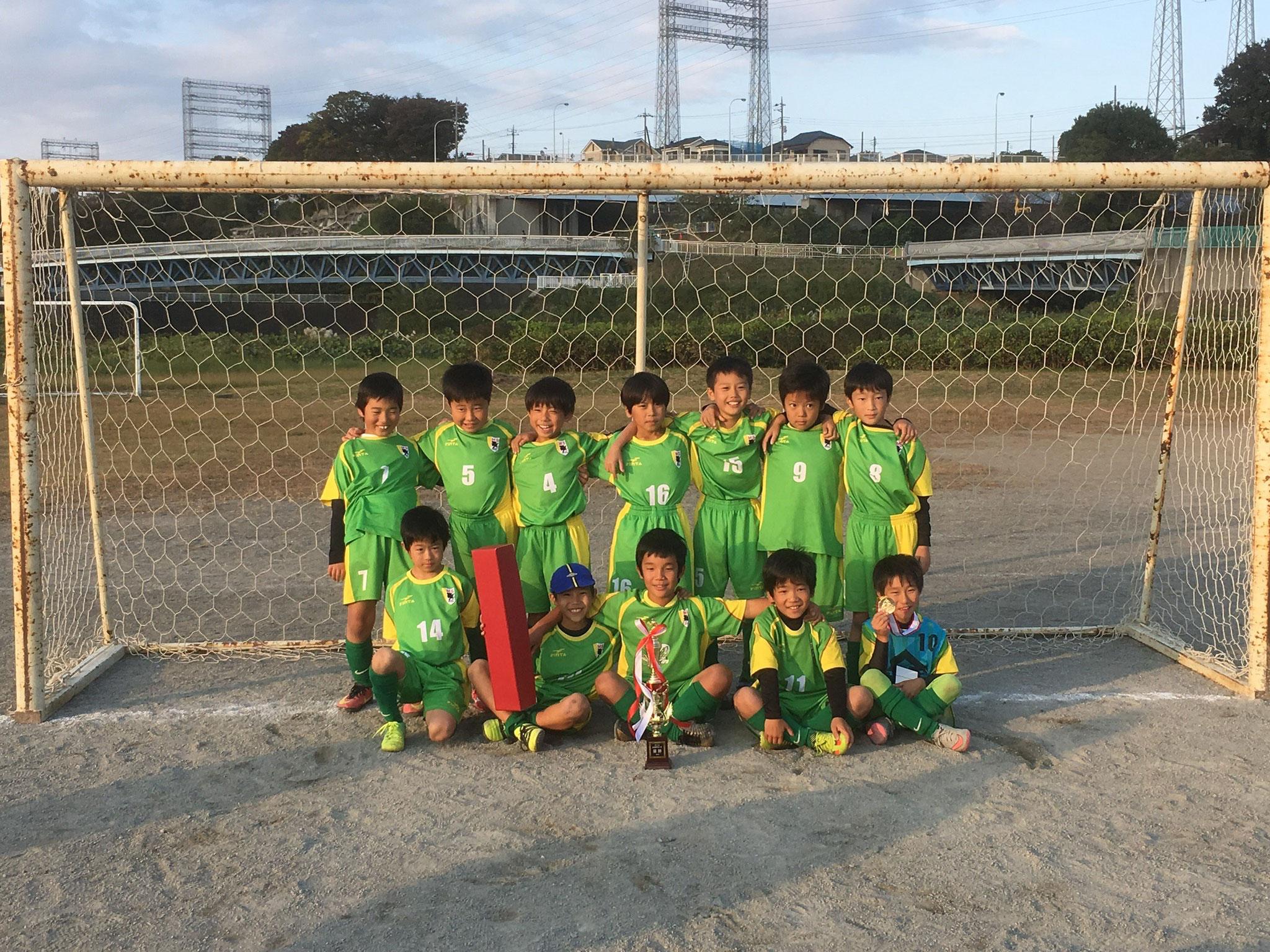 2016年度新磯FC親善サッカー大会 優勝