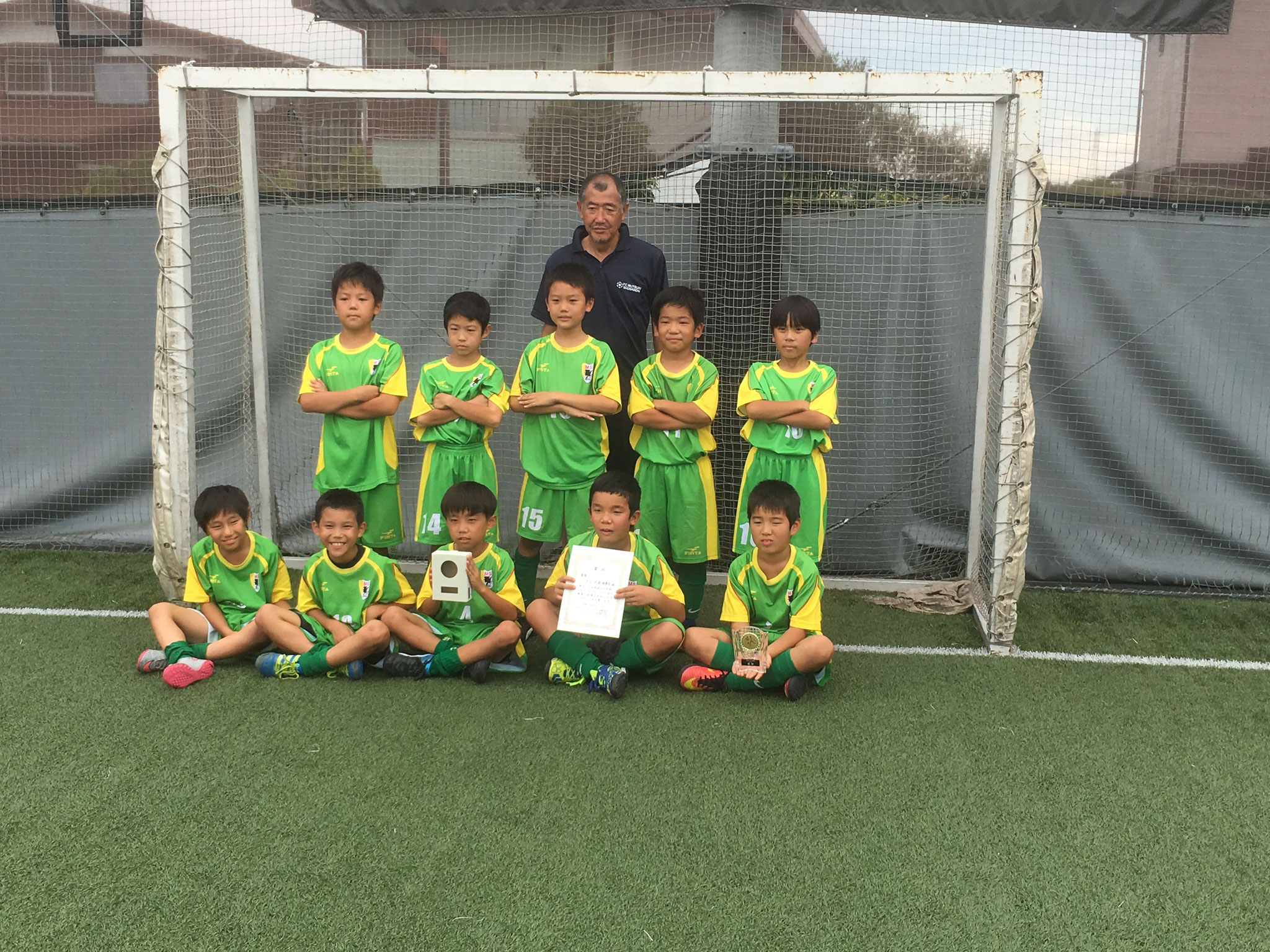 U-9 GEO-X CUP 優勝