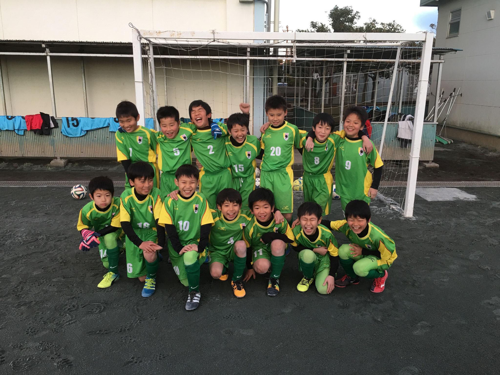 2016年度藤沢市市民サッカー大会 3年生の部 優勝