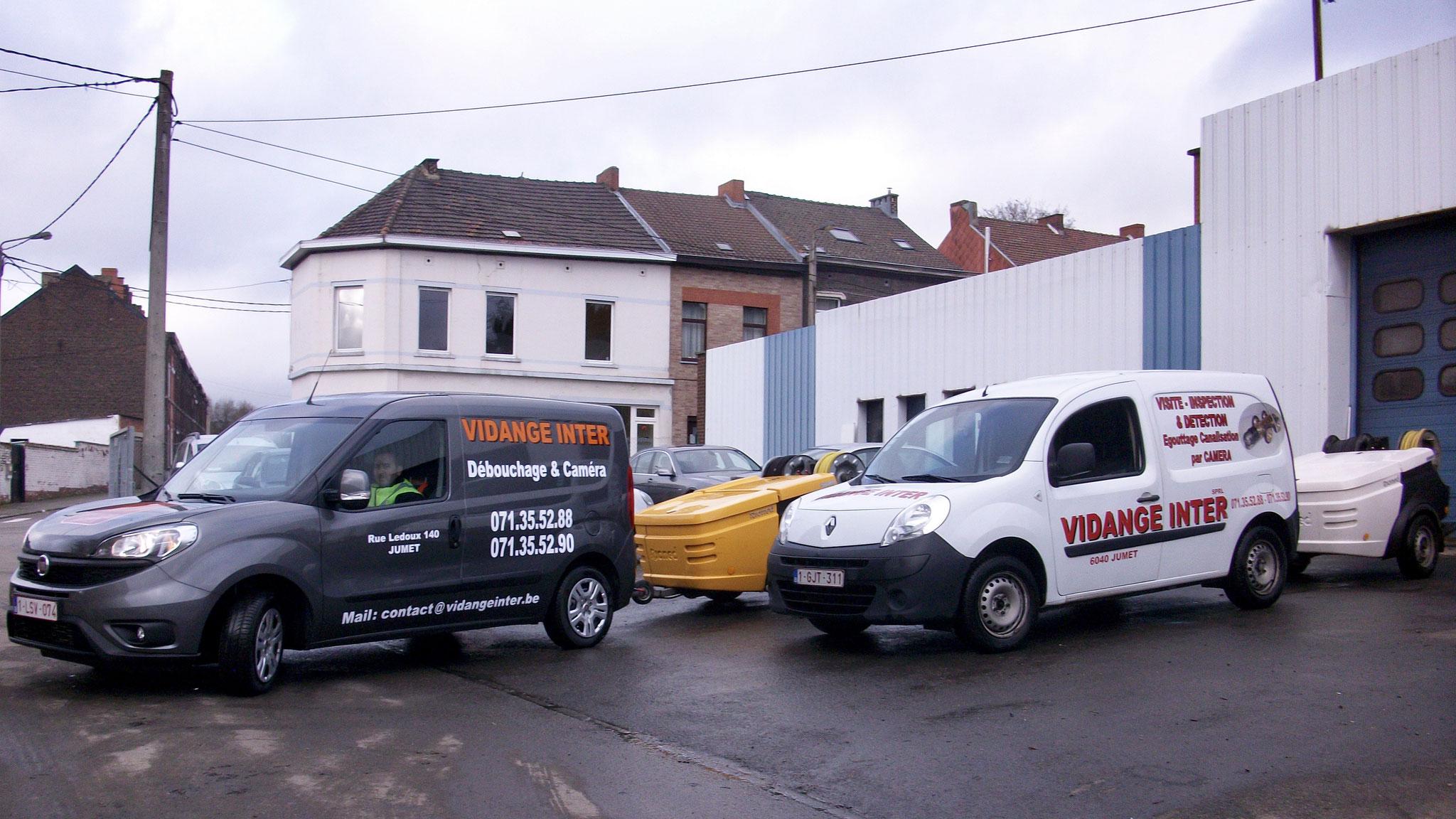 Intervention rapide sur tout le Hainaut, Namur et Brabant