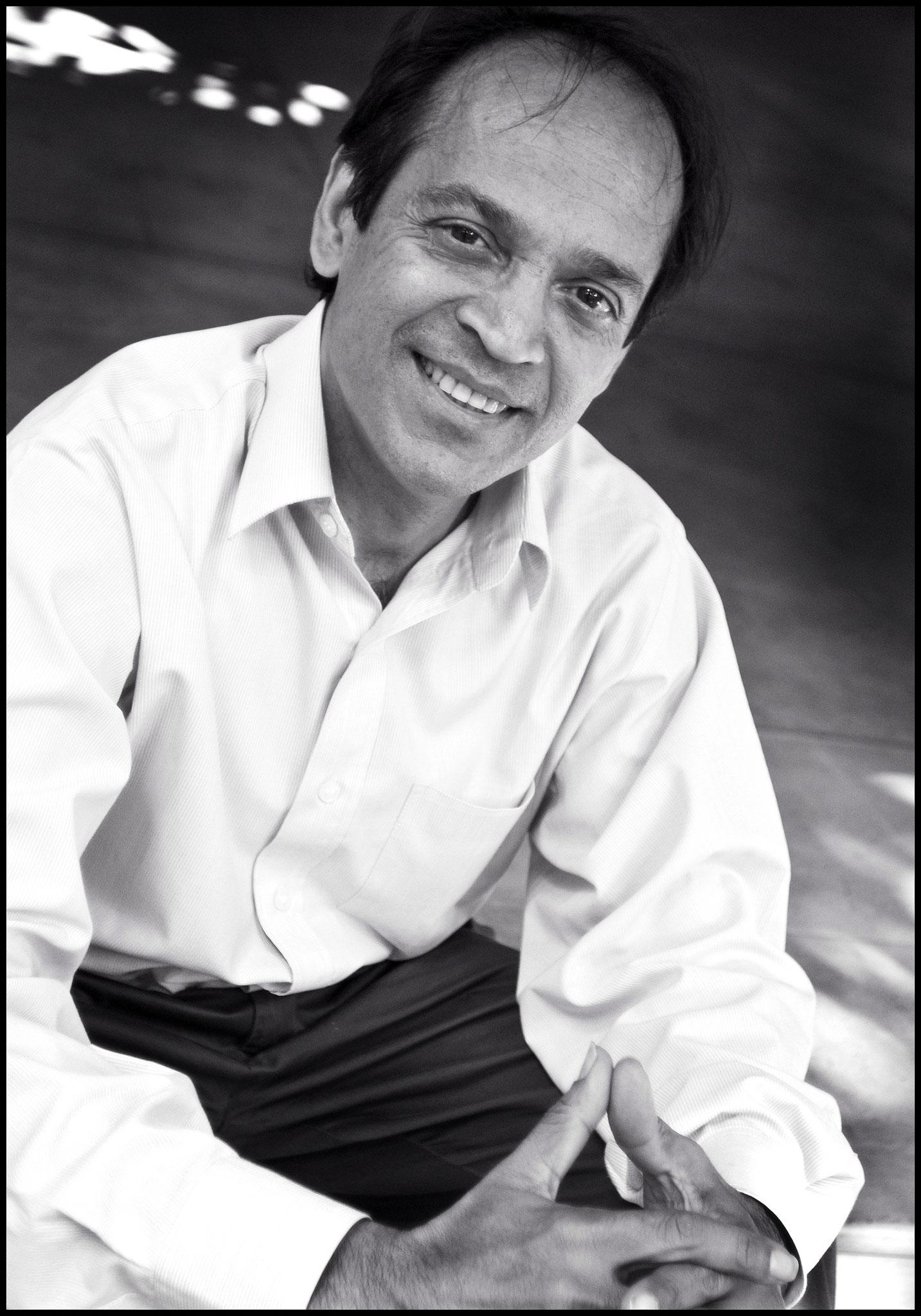 Vikram Seth, Indian novelist & Poet, (Colombo 2007) © OBS