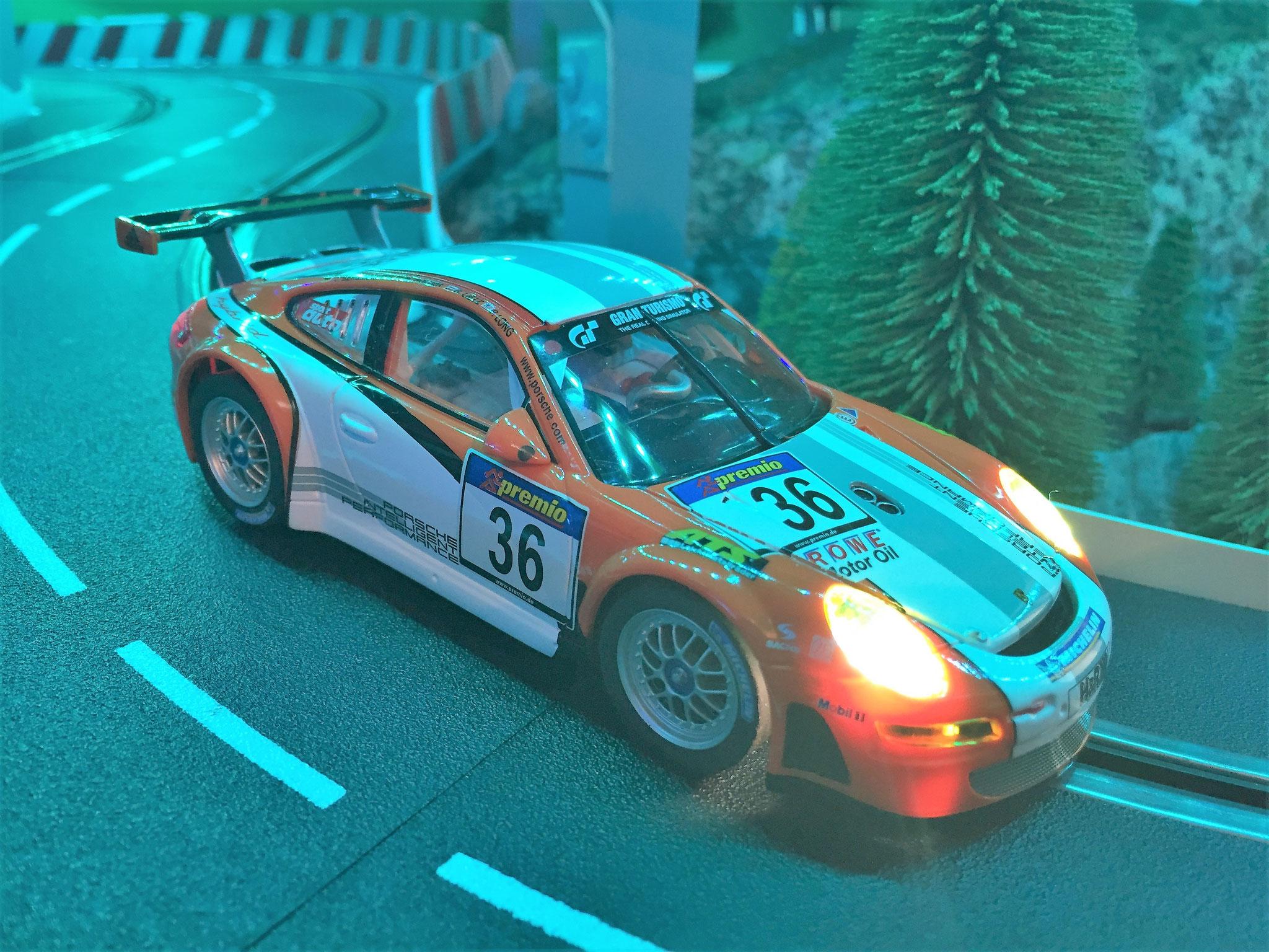 Porsche GT3 RSR Hybrid