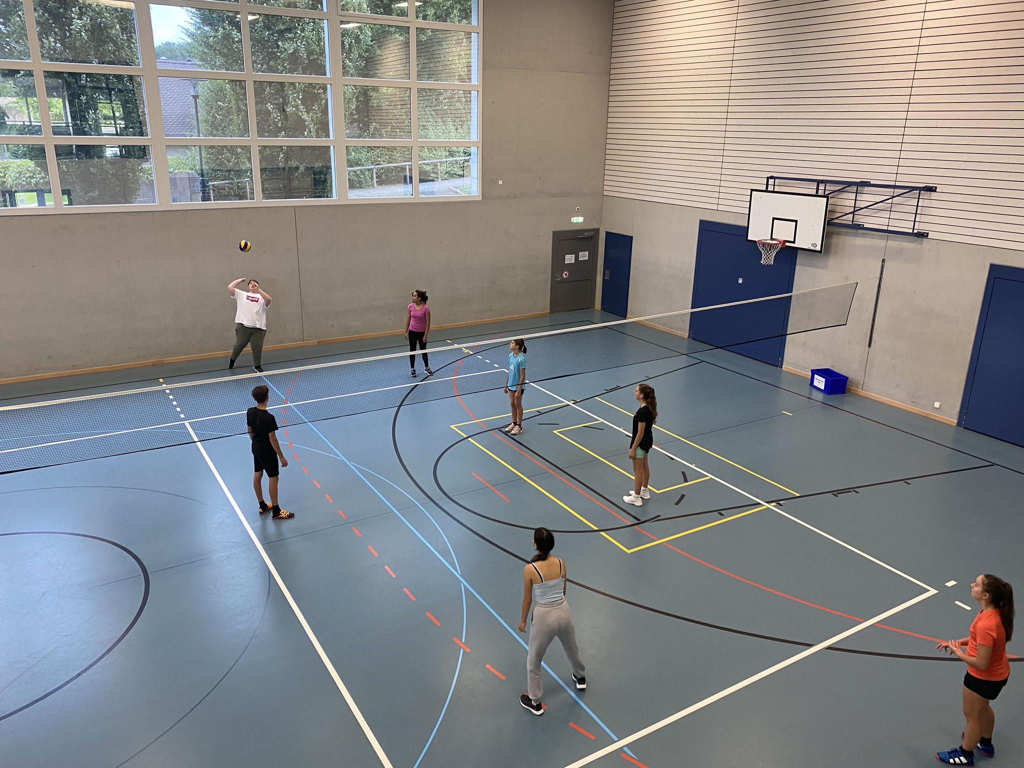 Trainingssonntag Volley Jugend