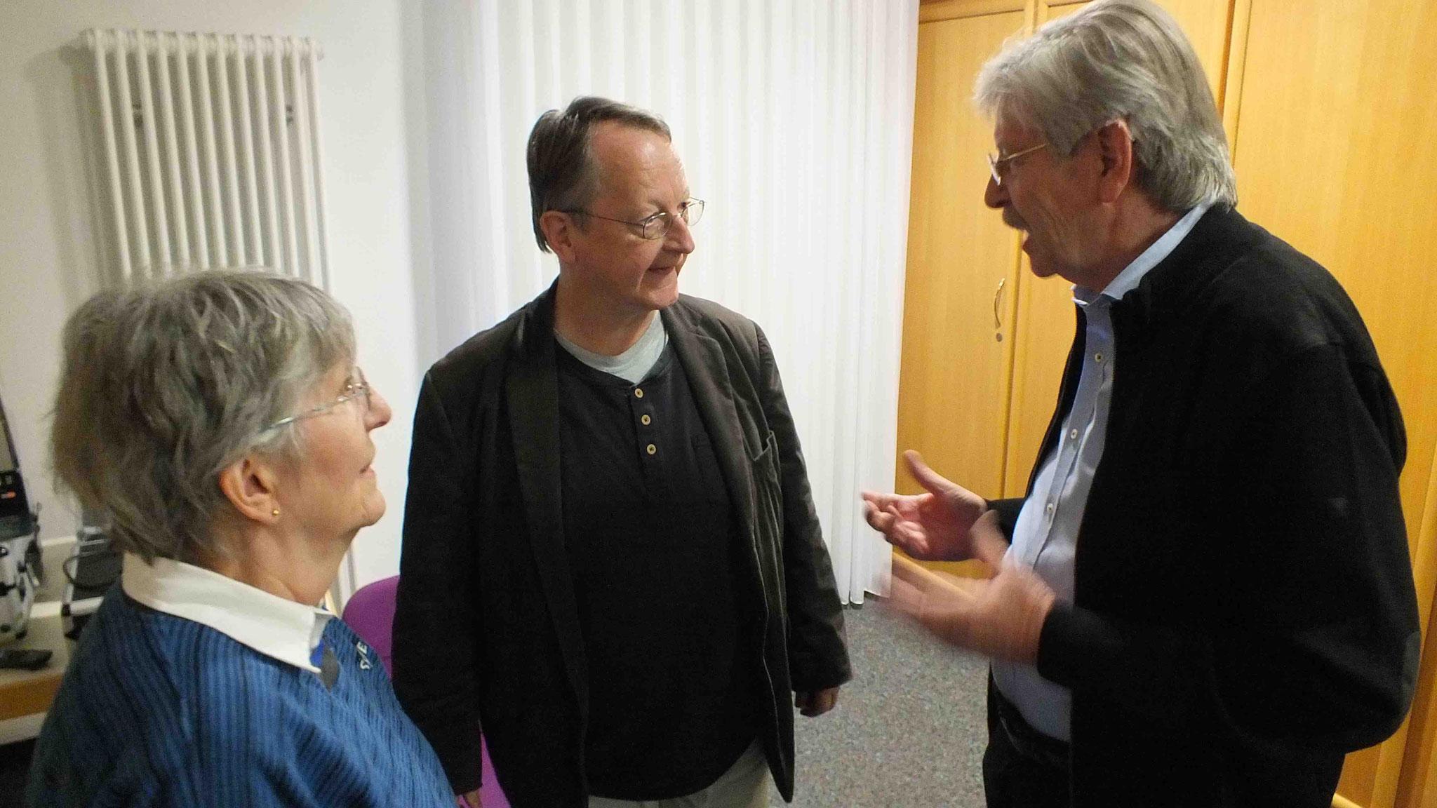 Adalbert Becker gab uns die Ehre seines Besuches