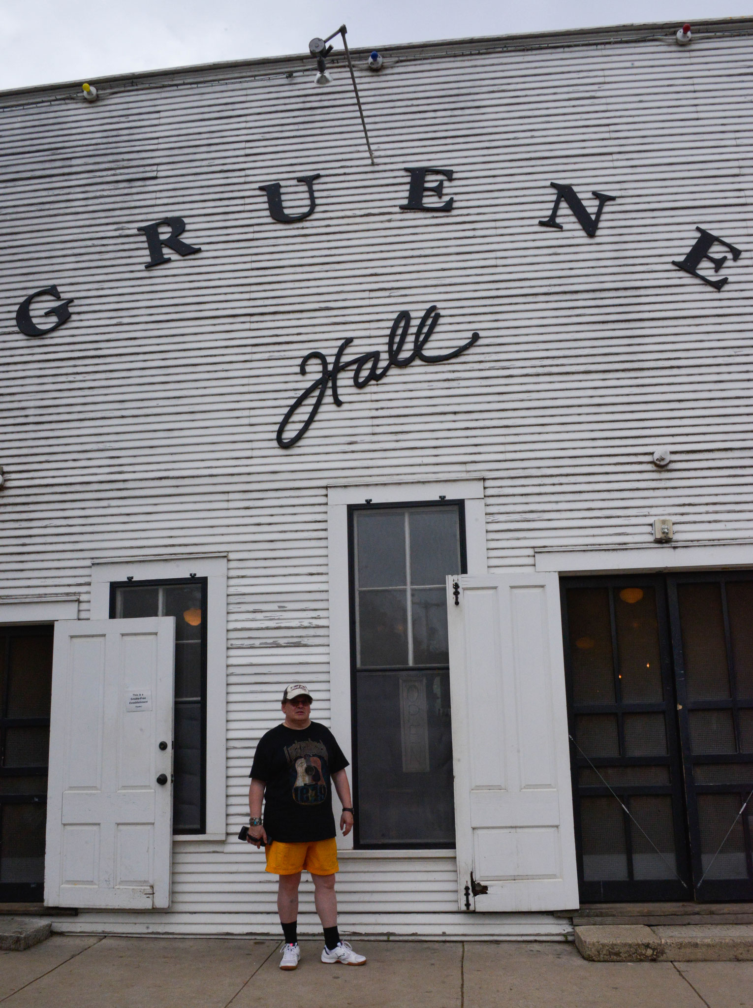 New Brownfels / Gruene Hall