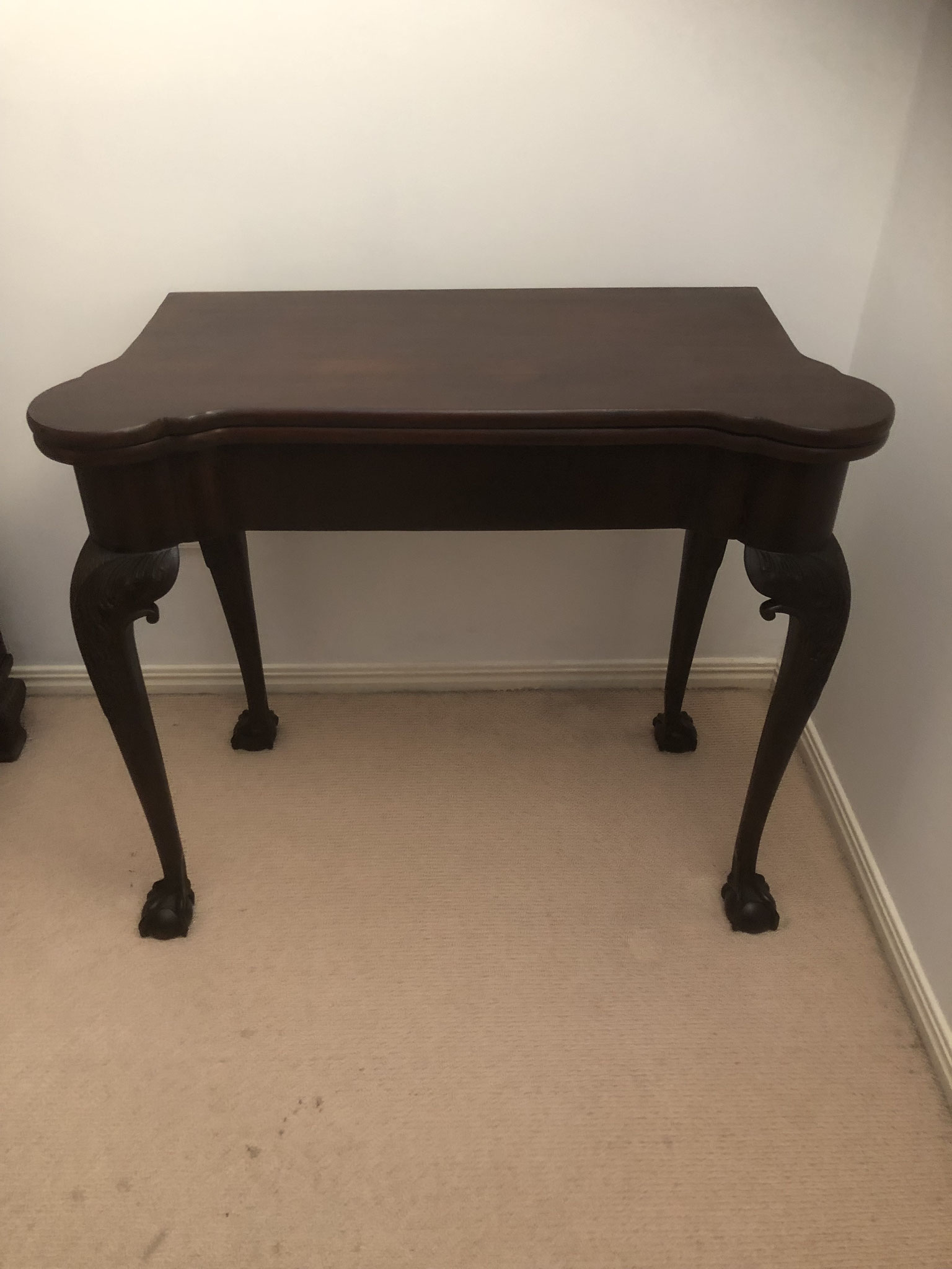 Mahogany Card Table | Circa 1810 | Price: $850.00
