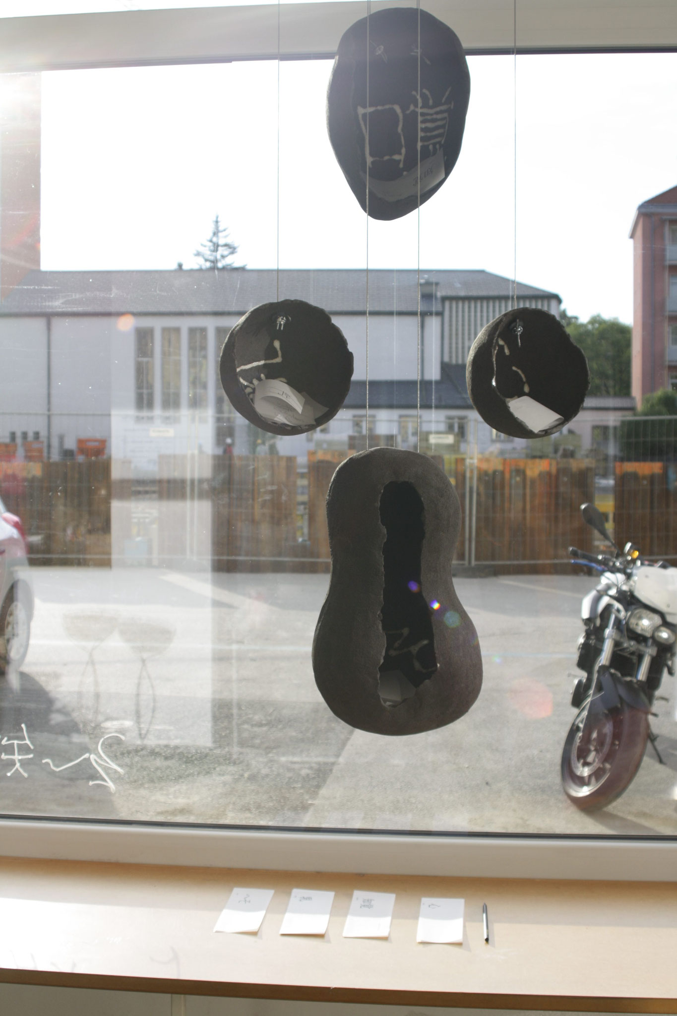 3m² Ausstellung: Judith Klemenc 知覚 – 乳 – 心 – へそ