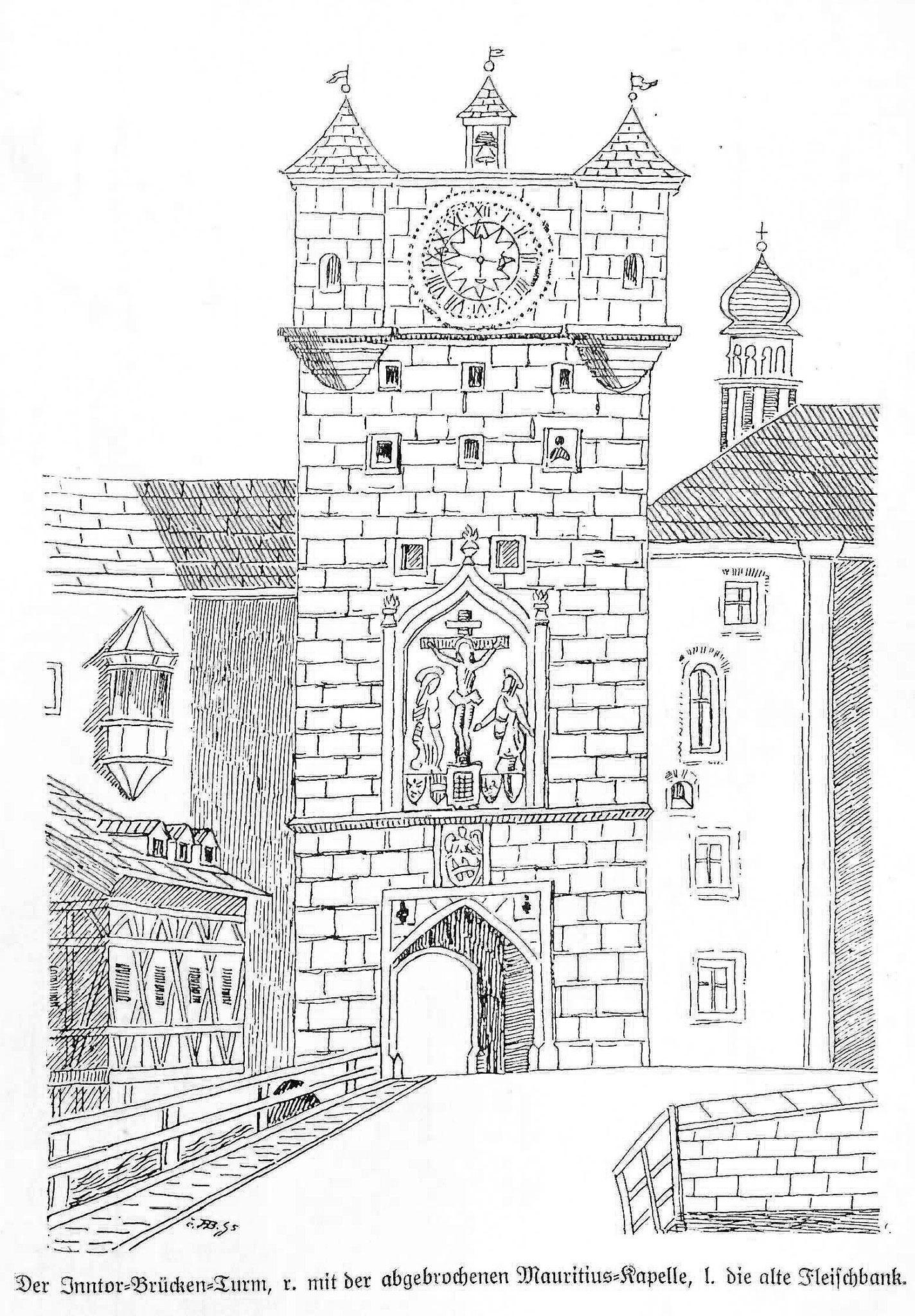 Inntor 1790 abgerissen