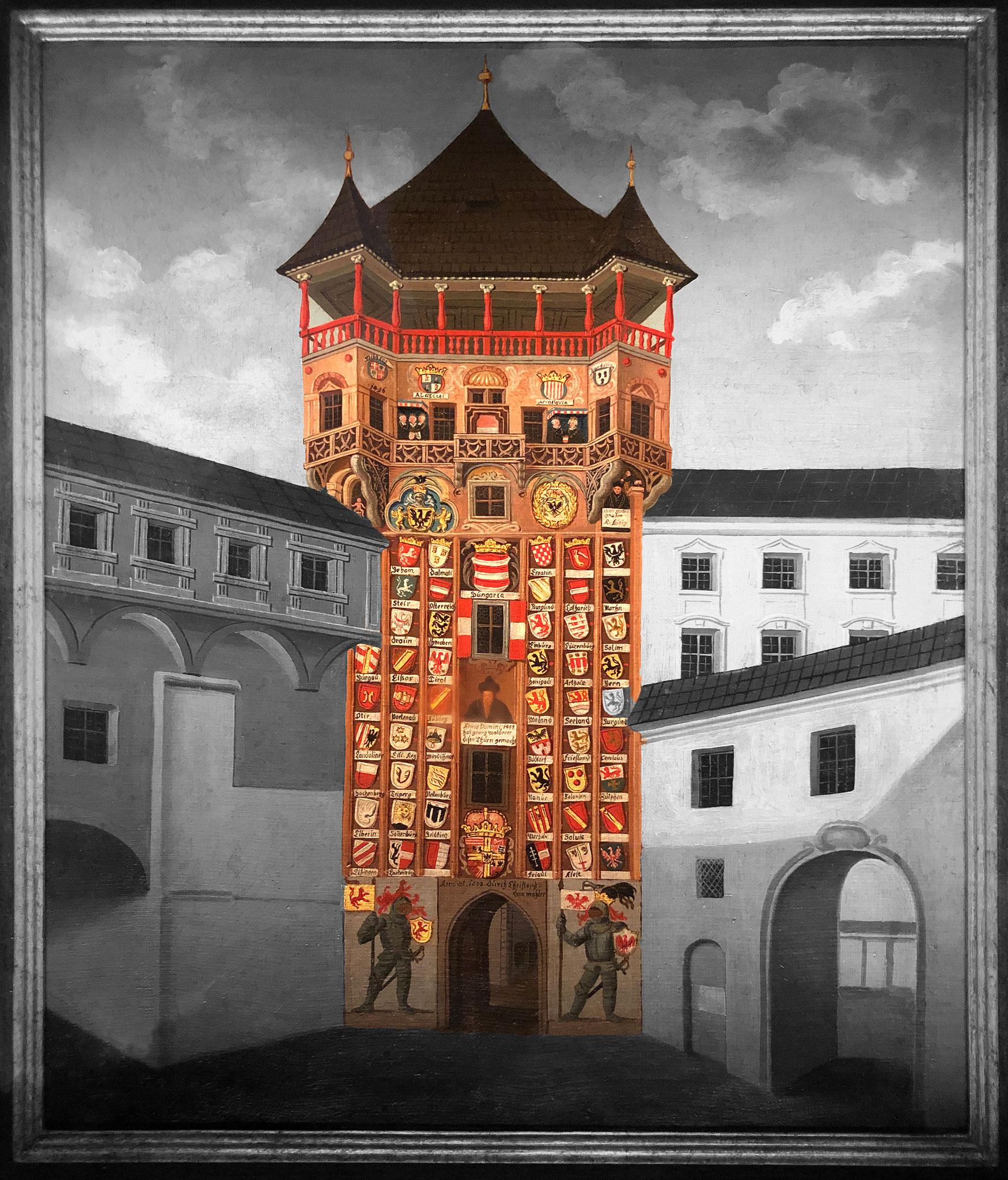 Wappenturm - erbaut 1492