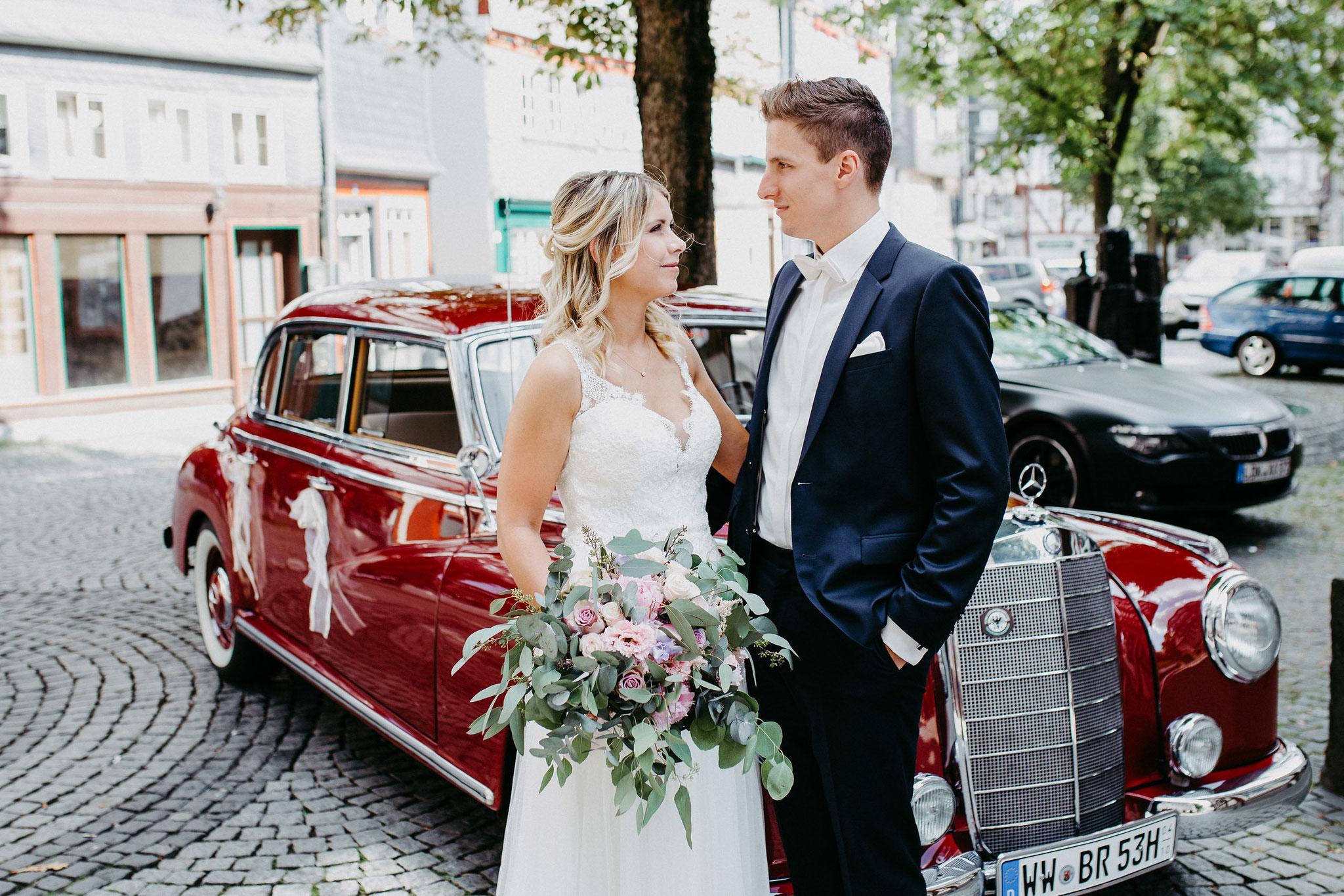 Hochzeit in der Altstadt Herborn