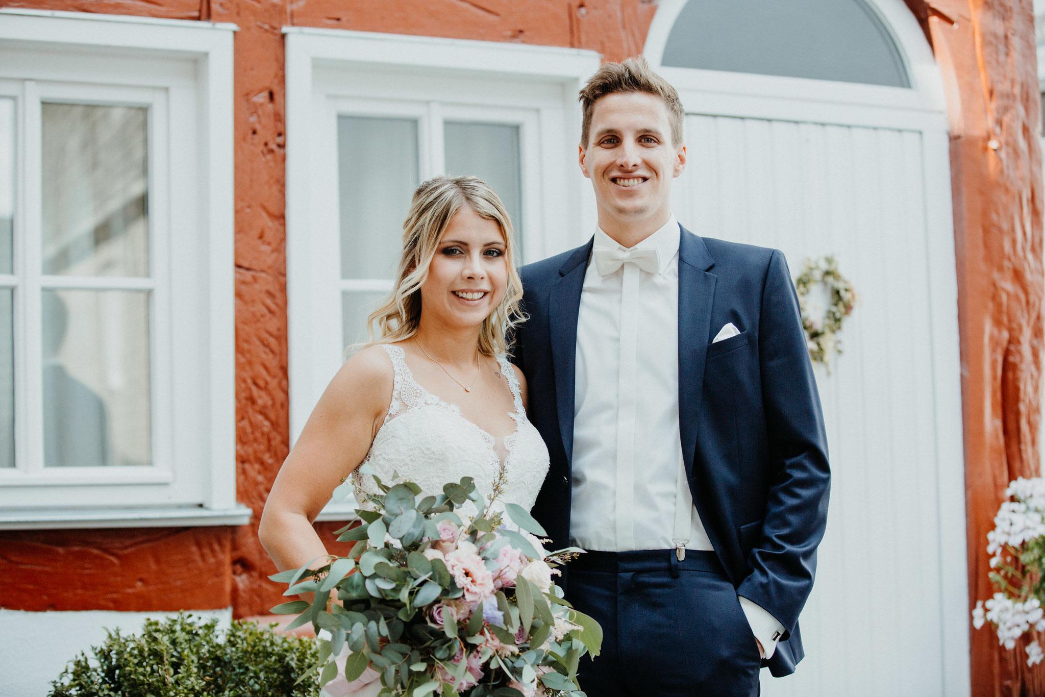 Fachwerk Herborn Hochzeit