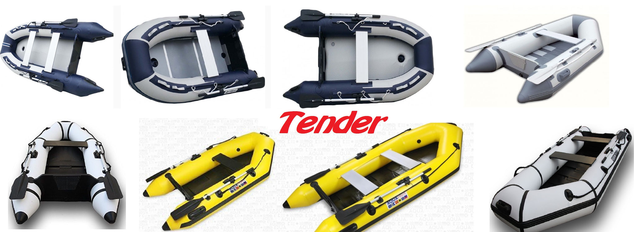 Tender Aquaparx - Ozeam - ViaMare e Z-Ray