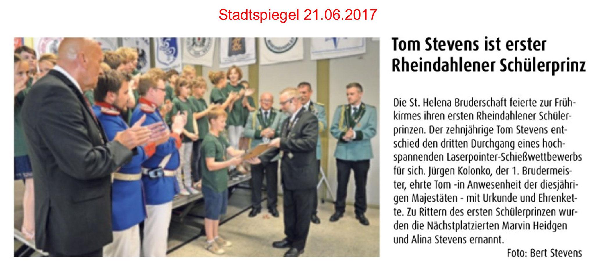 Stadtspiegel 21.06.2017
