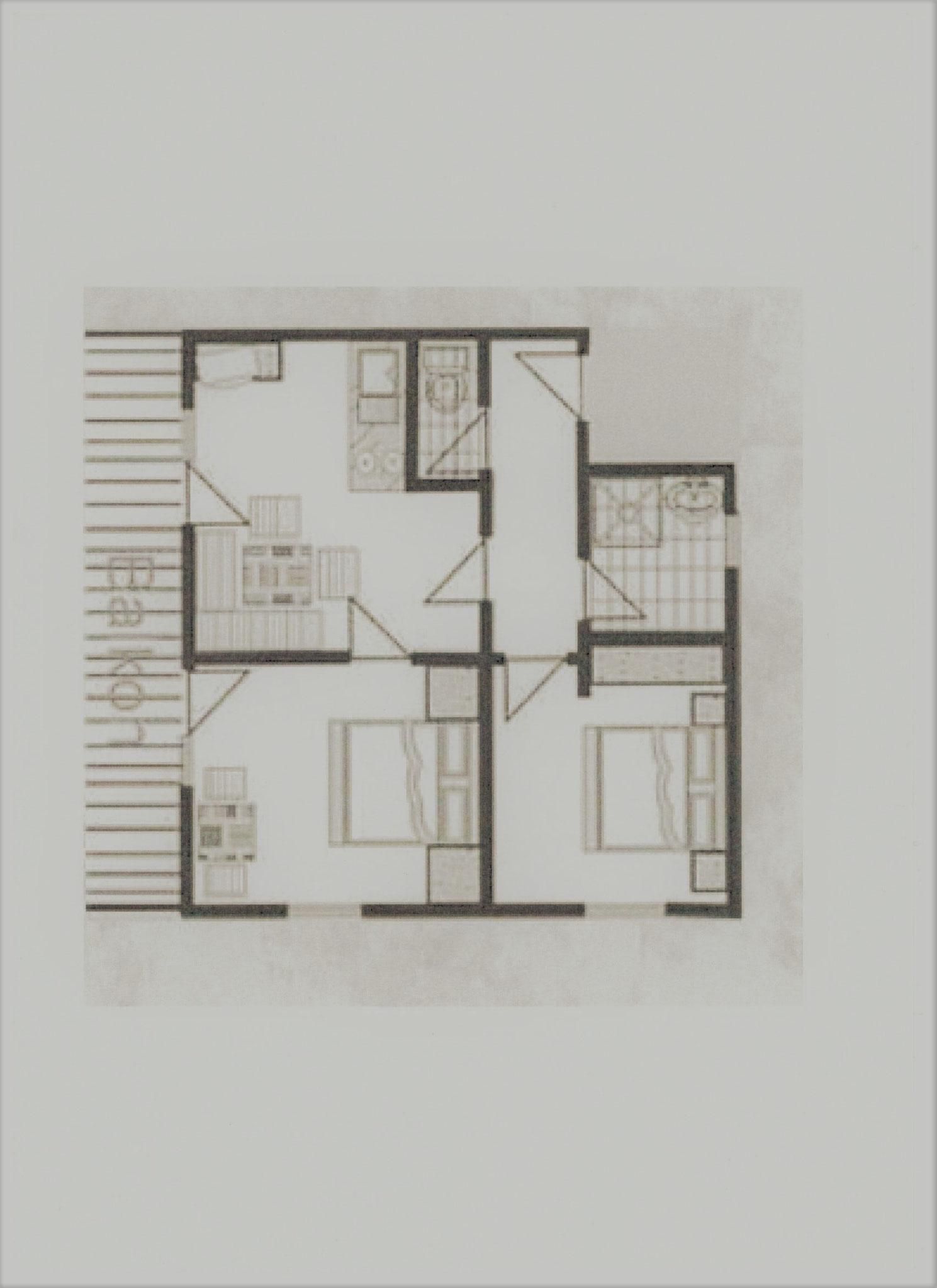 Grundriss Appartement Enzian