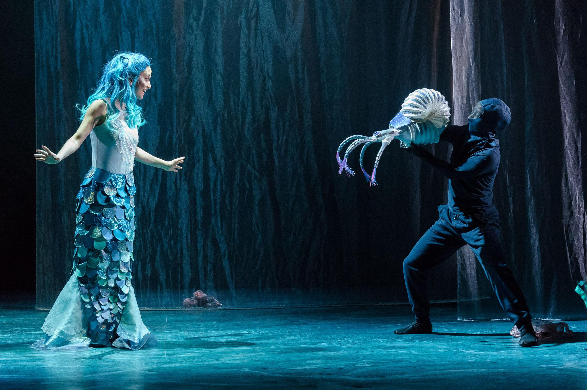 Das kleine Meermädchen, 2018, Theater der Jugend, Wien, Fotos: Rita Newman