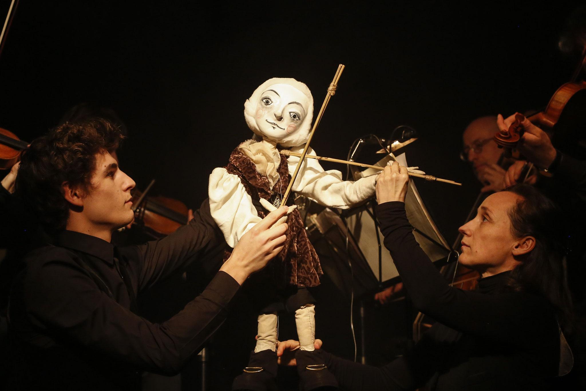 Haydn - die Musik aus mir, Schubert Theater 2017; Fotos: Barbara Pálffy