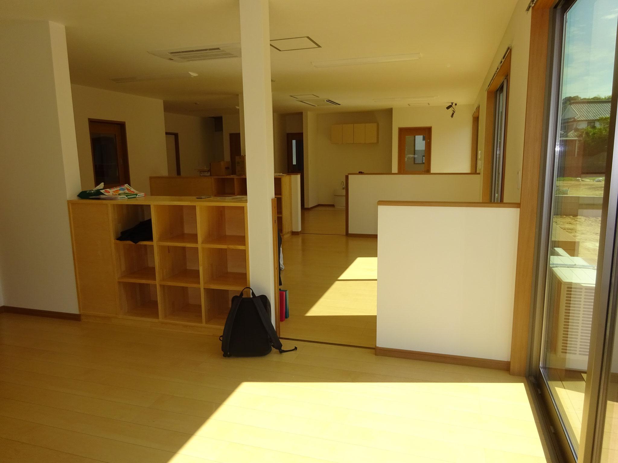 1階の広い保育空間
