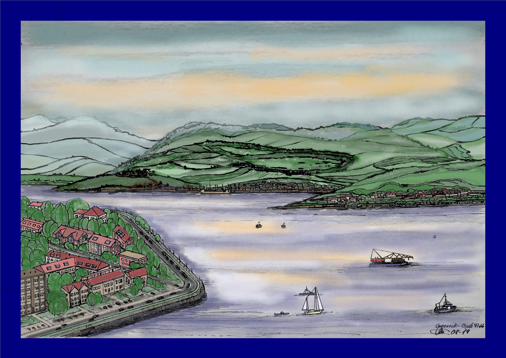 Schottland - greenock