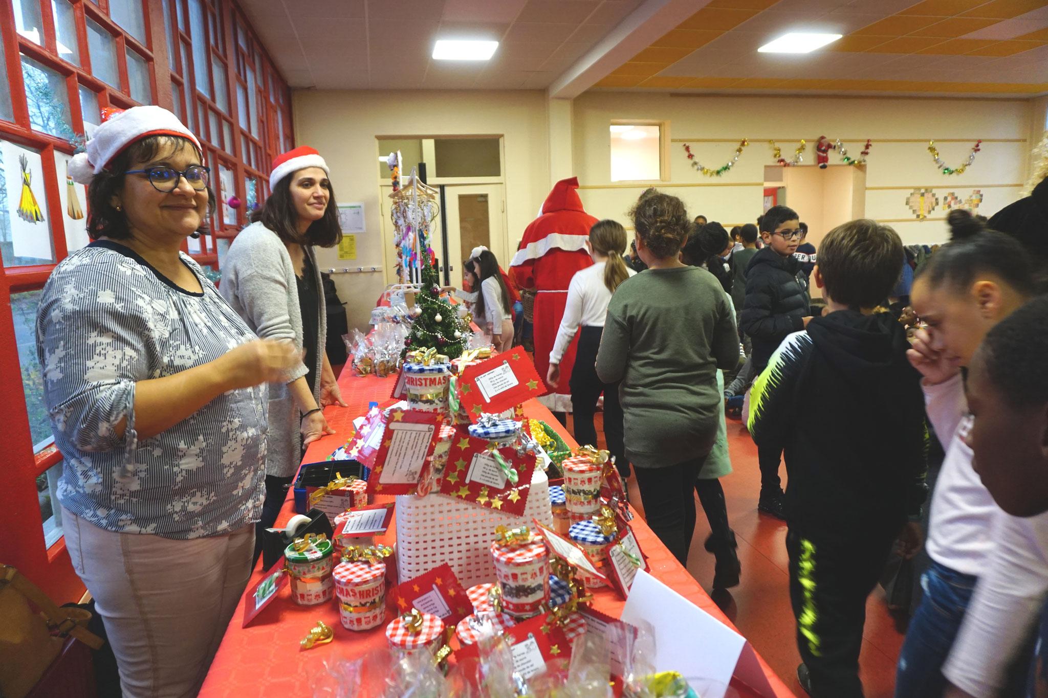 Le marché de Noël à l'école